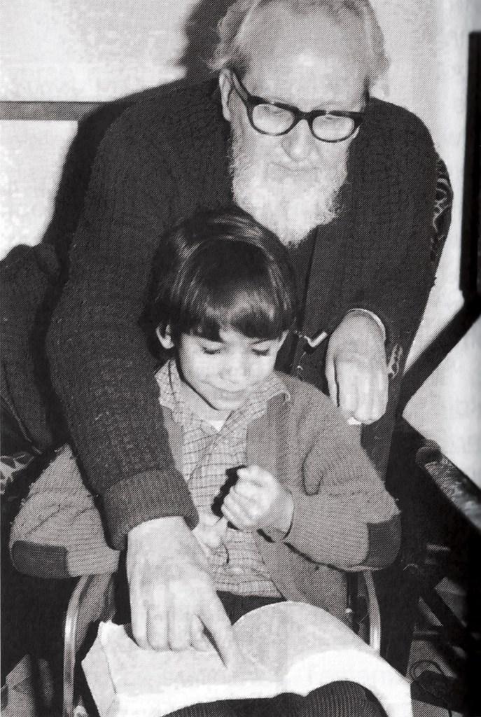 David Berg with Ricky Rodriguez in 1975.