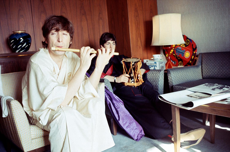 Beatles in Japan: See Intimate Photos of Historic 1966 Tokyo Trip