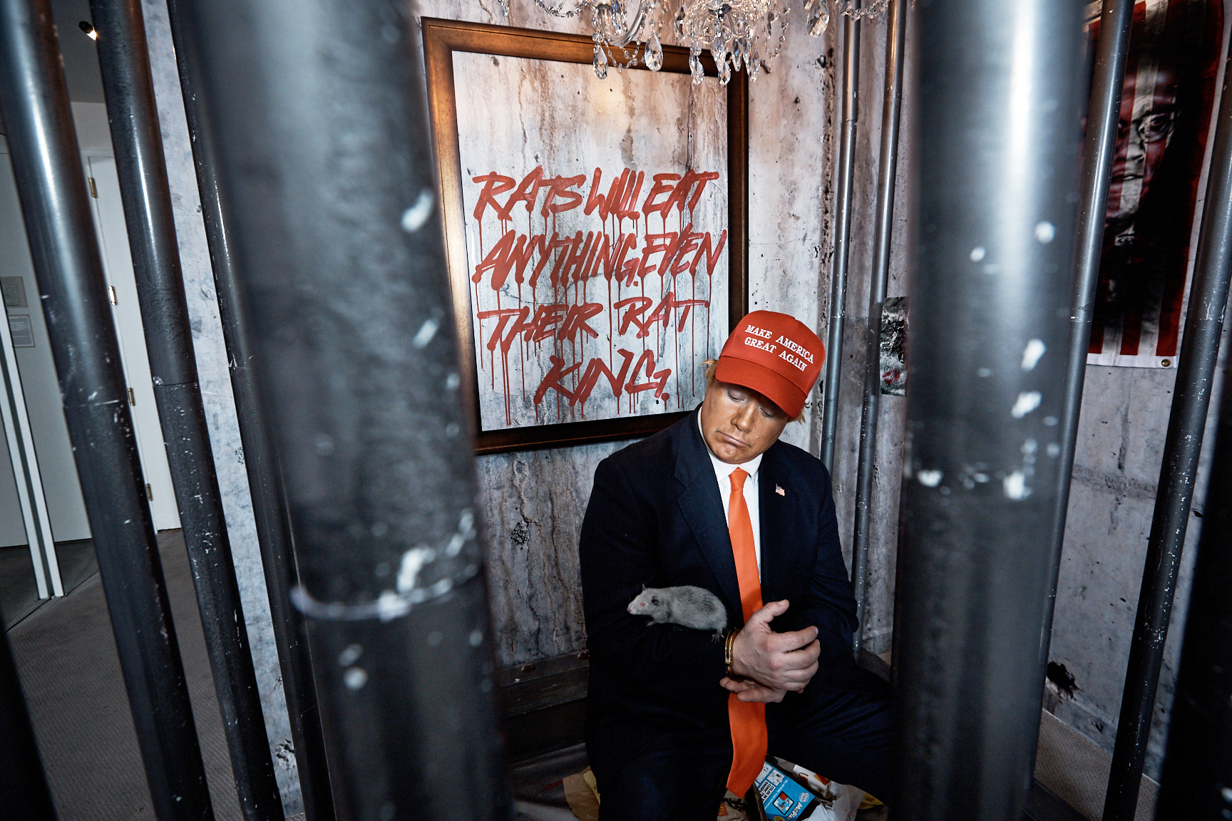 How a New Anti-Trump Art Installation Made Its Way to a Trump Hotel