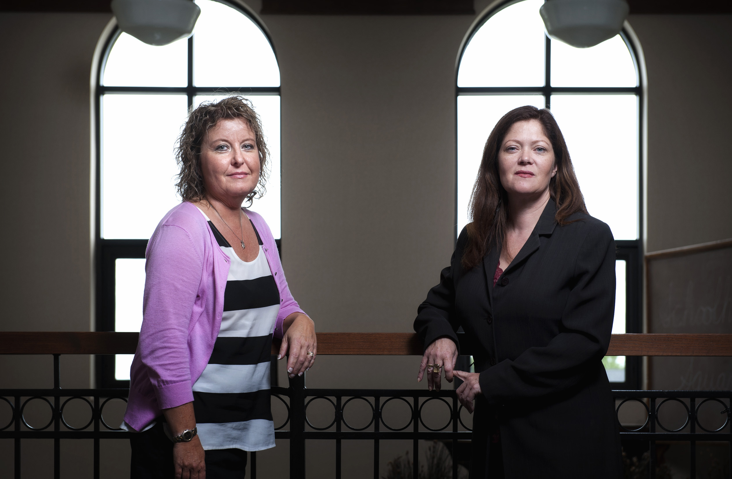 Dakota County public defenders Lauri Traub and Christine Funk are responsible for discovering widespread problems with the St. Paul crime lab. Friday, July 27, 2012.