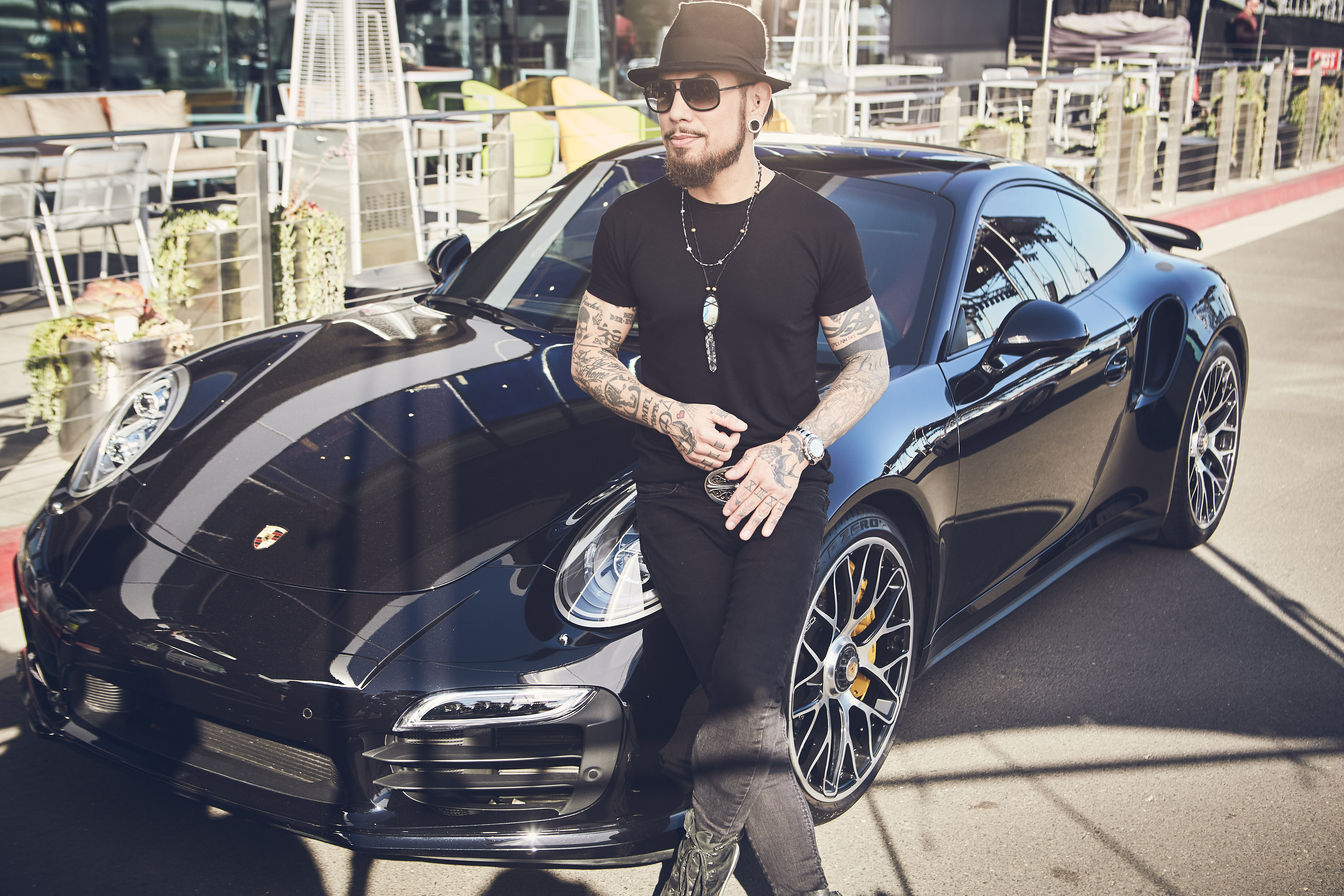 Foto do carro de Dave Navarro