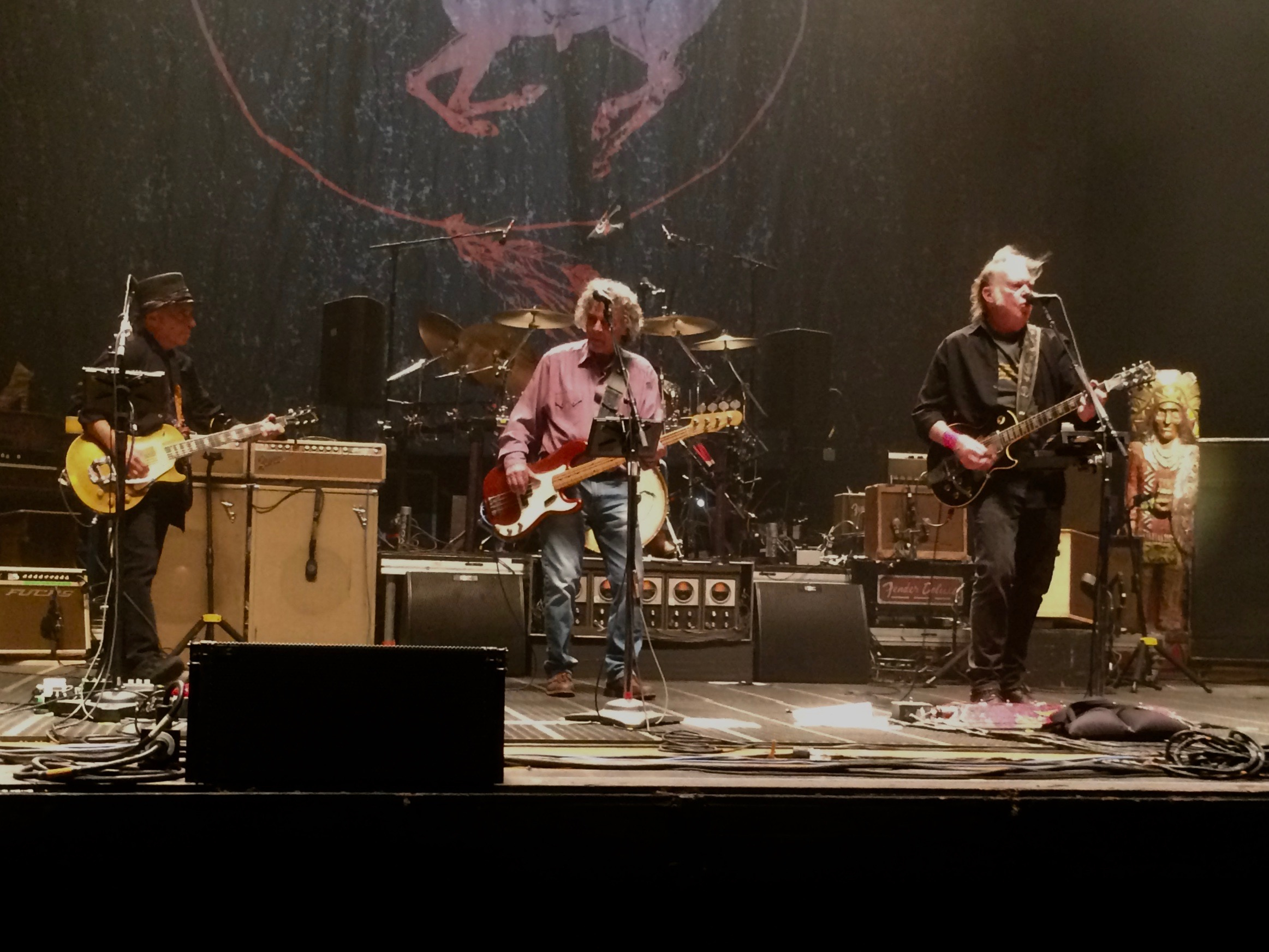 Neil Young Reunites With Crazy Horse at Intimate Fresno Gig