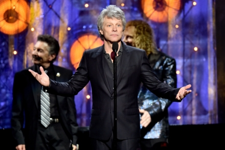 Read Bon Jovi's Rock and Roll Hall of Fame Induction