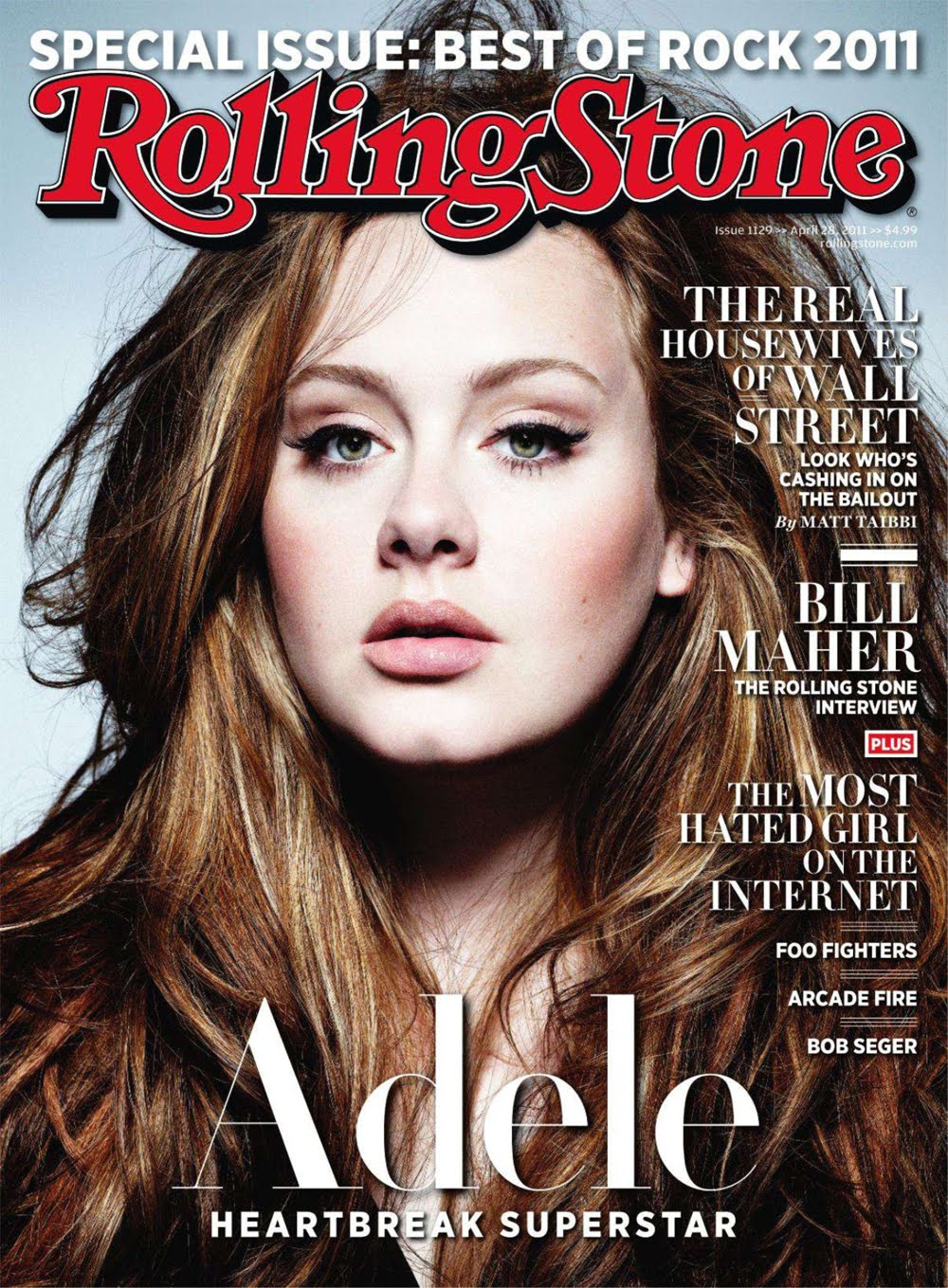 Adele Opens Up About Her Inspirations, Looks and Stage Fright ...