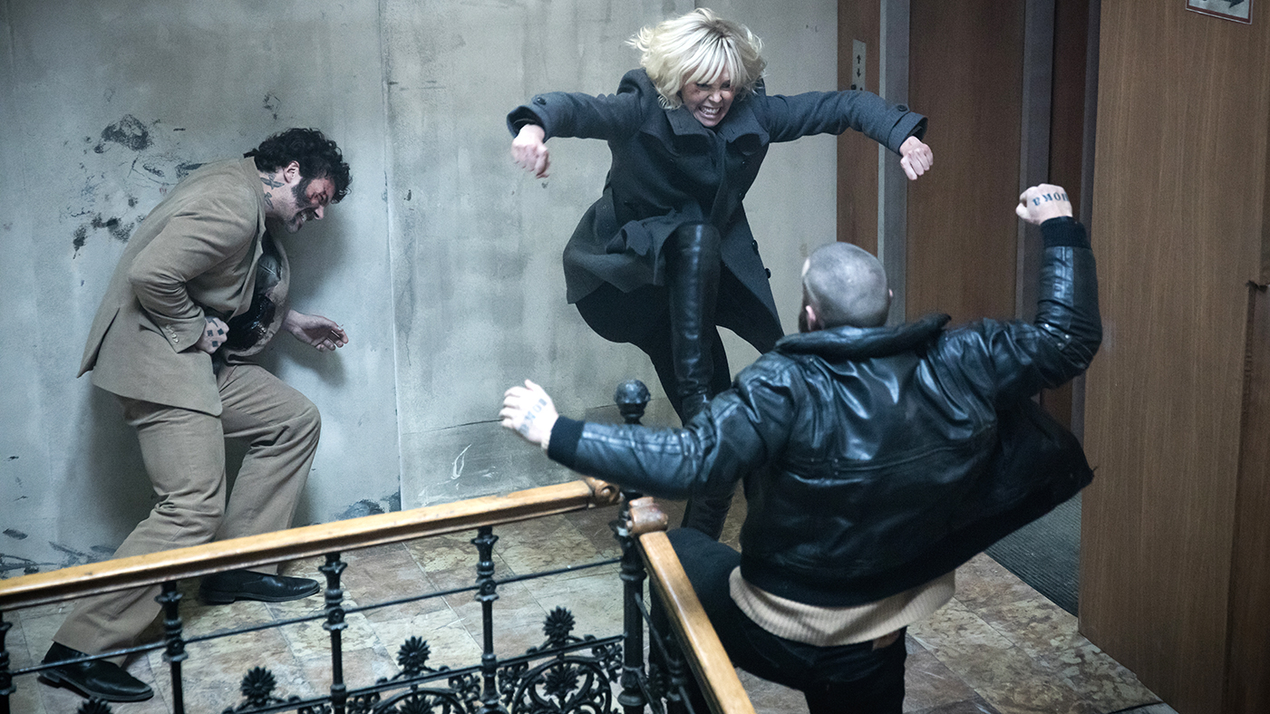 a4bc1398b1a3  Atomic Blonde  director David Leitch on shooting five kick-ass set pieces  – from that breathtaking car chase to that WTF