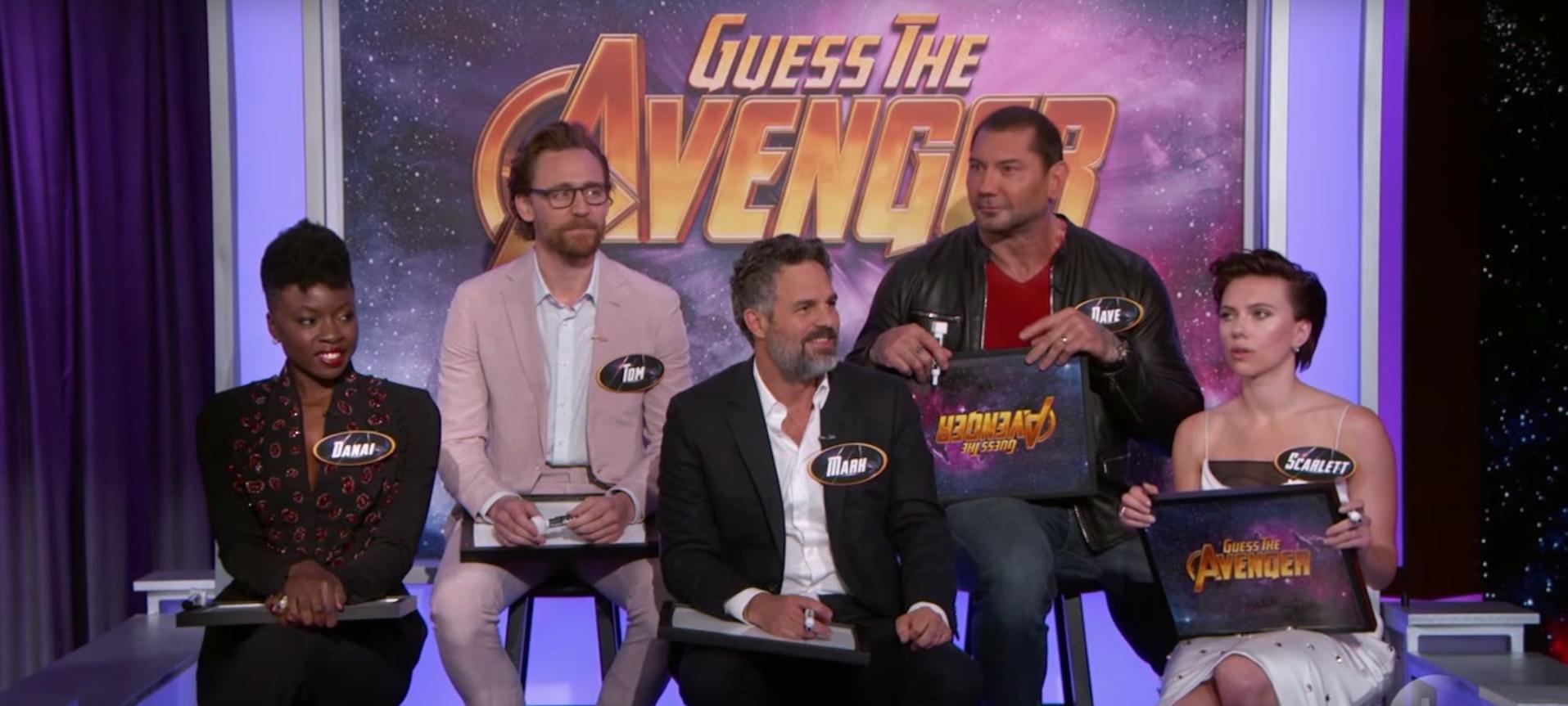 Watch 'Avengers: Infinity War' Cast Invade 'Kimmel