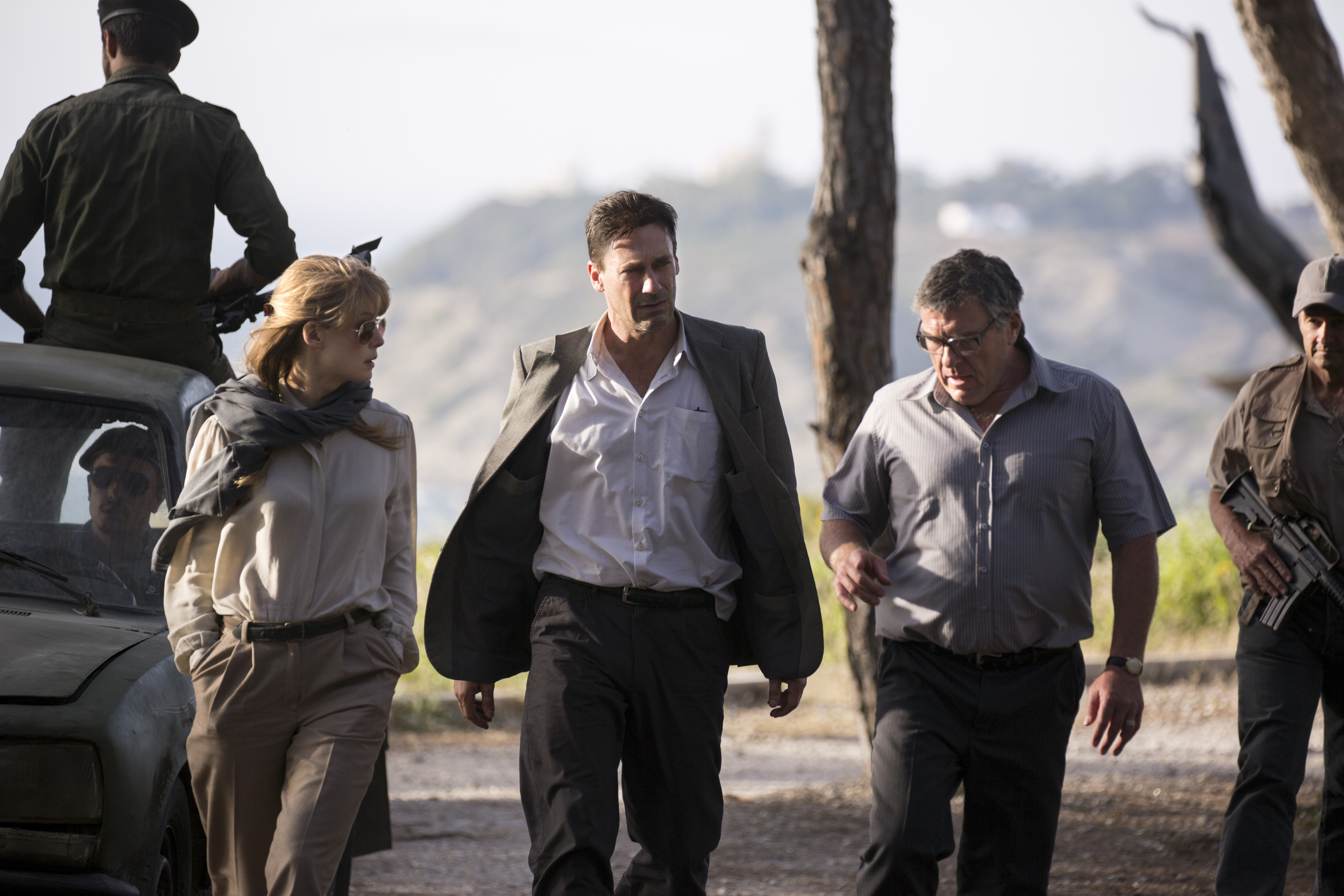 pretty nice c16d3 d9089  Beirut  Review  Jon Hamm Adds Class, Movie-Star Charisma to Spy Thriller