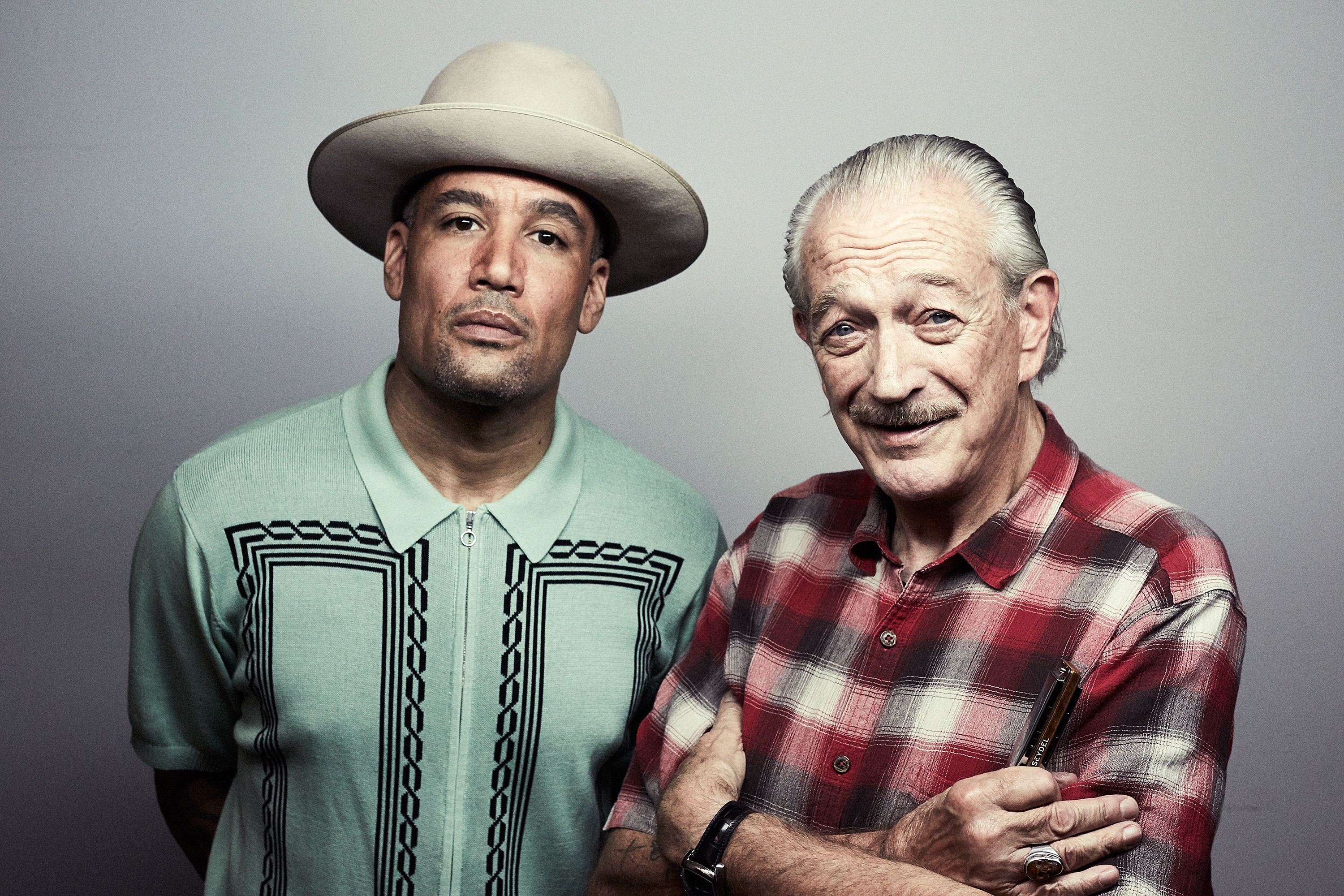 6f396ea3ff8a3 Ben Harper and Charlie Musselwhite