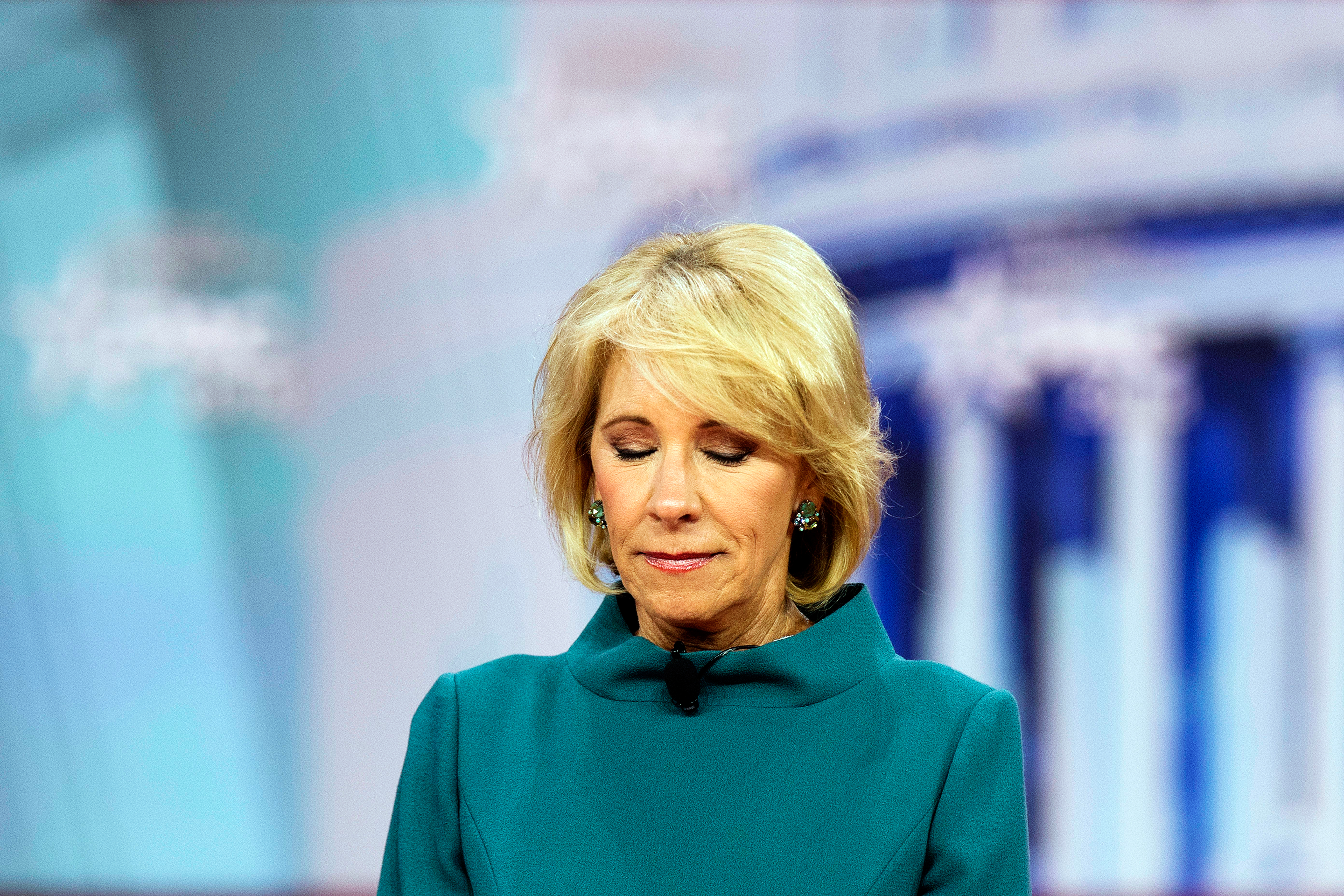 Betsy Devos Wont Be Doing Too Much As >> Jamil Smith Betsy Devos Trump Worst Government Possible On
