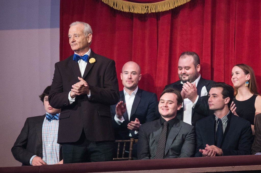 Watch Bill Murray Accept Mark Twain Prize for American Humor