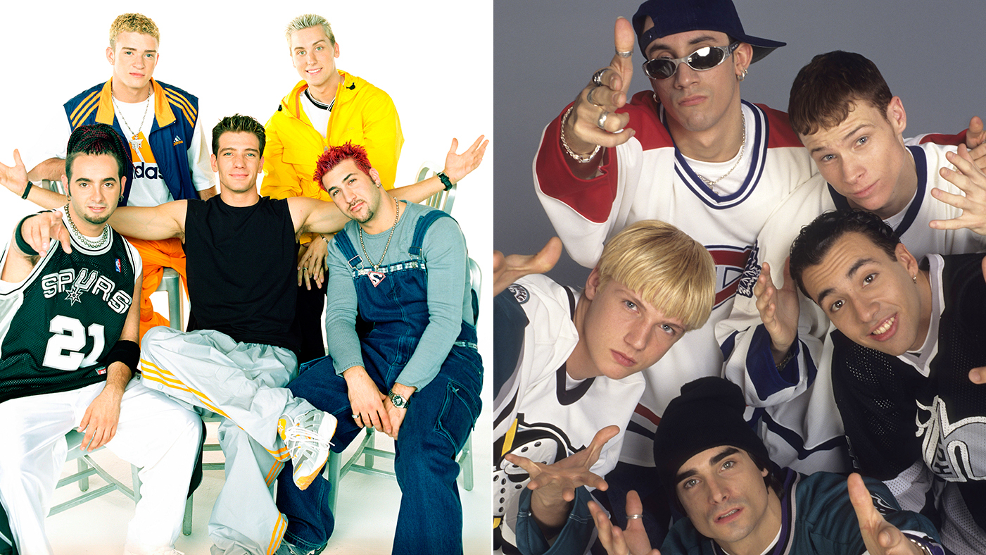 Behind The Greatest Boy Band Feud Of All Time N Sync Vs Backstreet