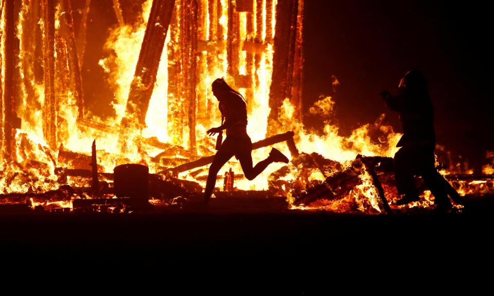 Burning Man Fest One Dead Another In Critical Condition