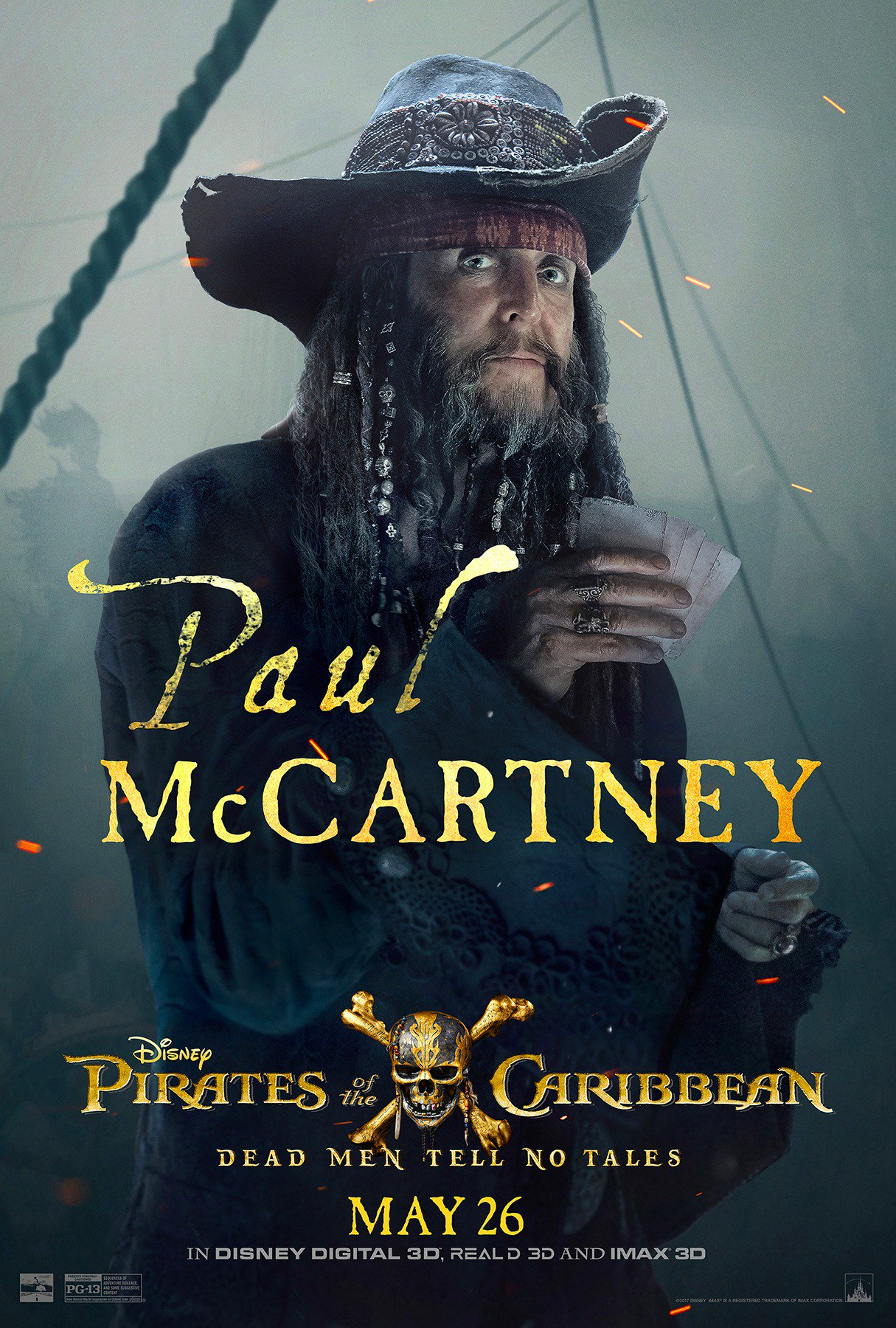 Paul McCartney Reveals Pirates Of The Caribbean Character Rolling Stone
