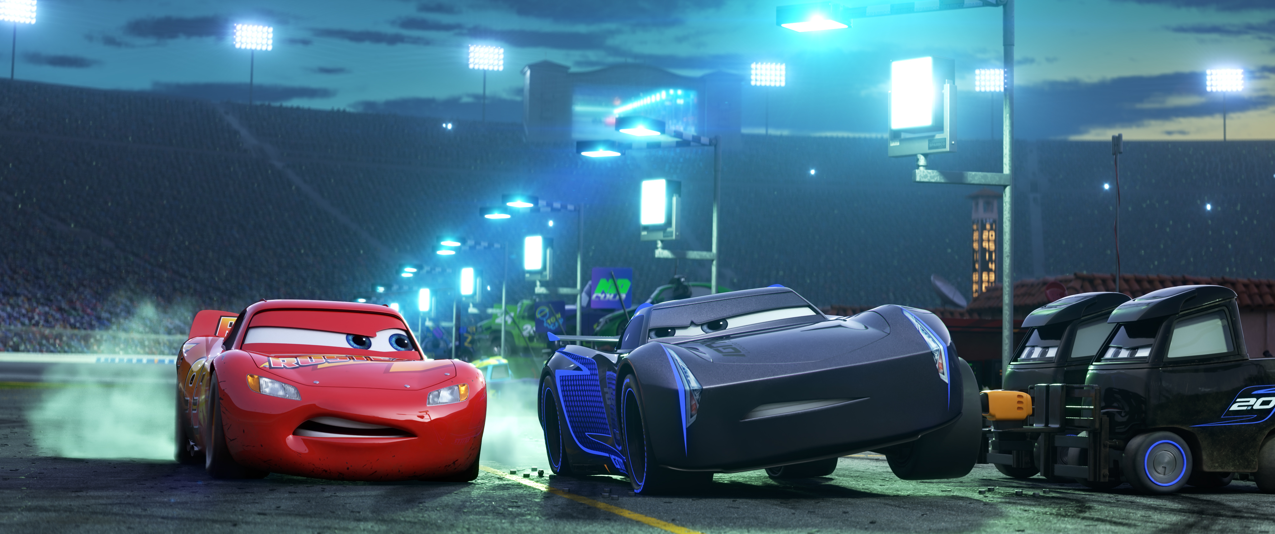 Cars 3\': Finally, a \'Cars\' Movie Worthy of the Pixar Name – Rolling ...