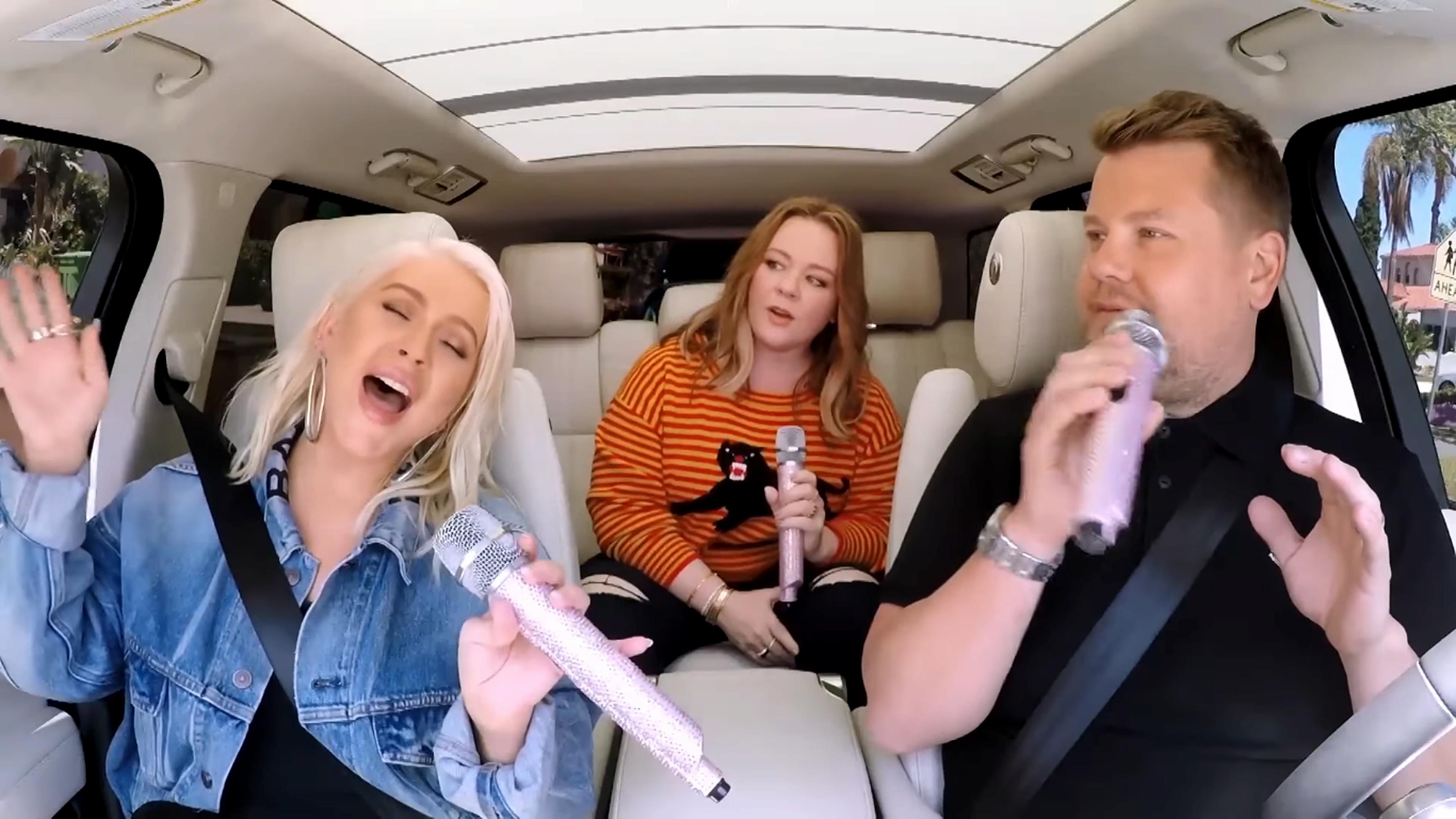 Carpool Karaoke': See Christin...