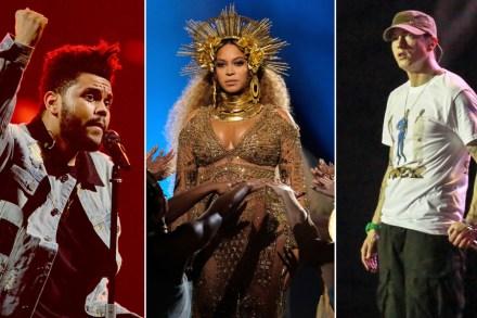 Beyonce, Eminem, the Weeknd to Headline Coachella 2018