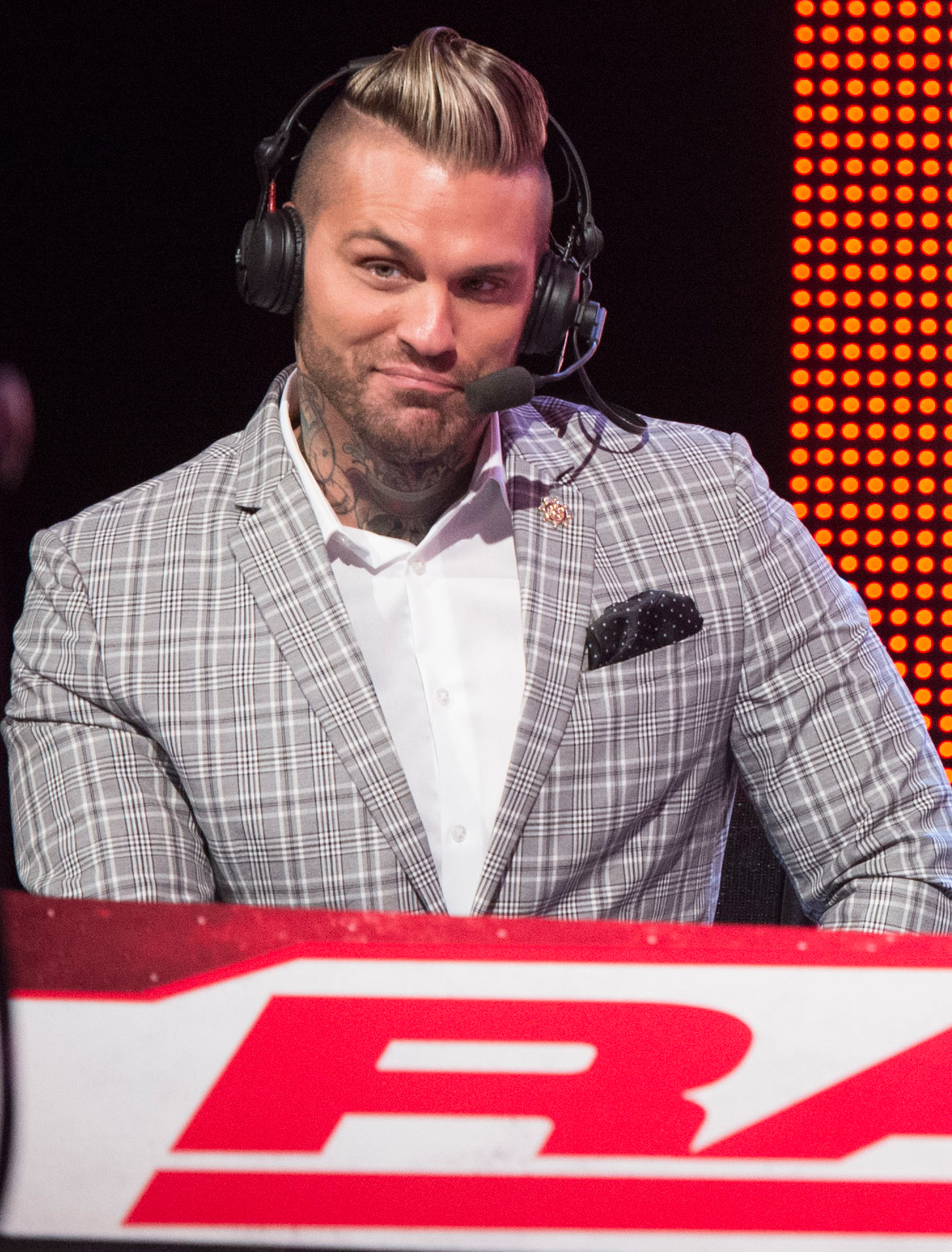 How Corey Graves Became the Wise-Cracking Voice of the WWE