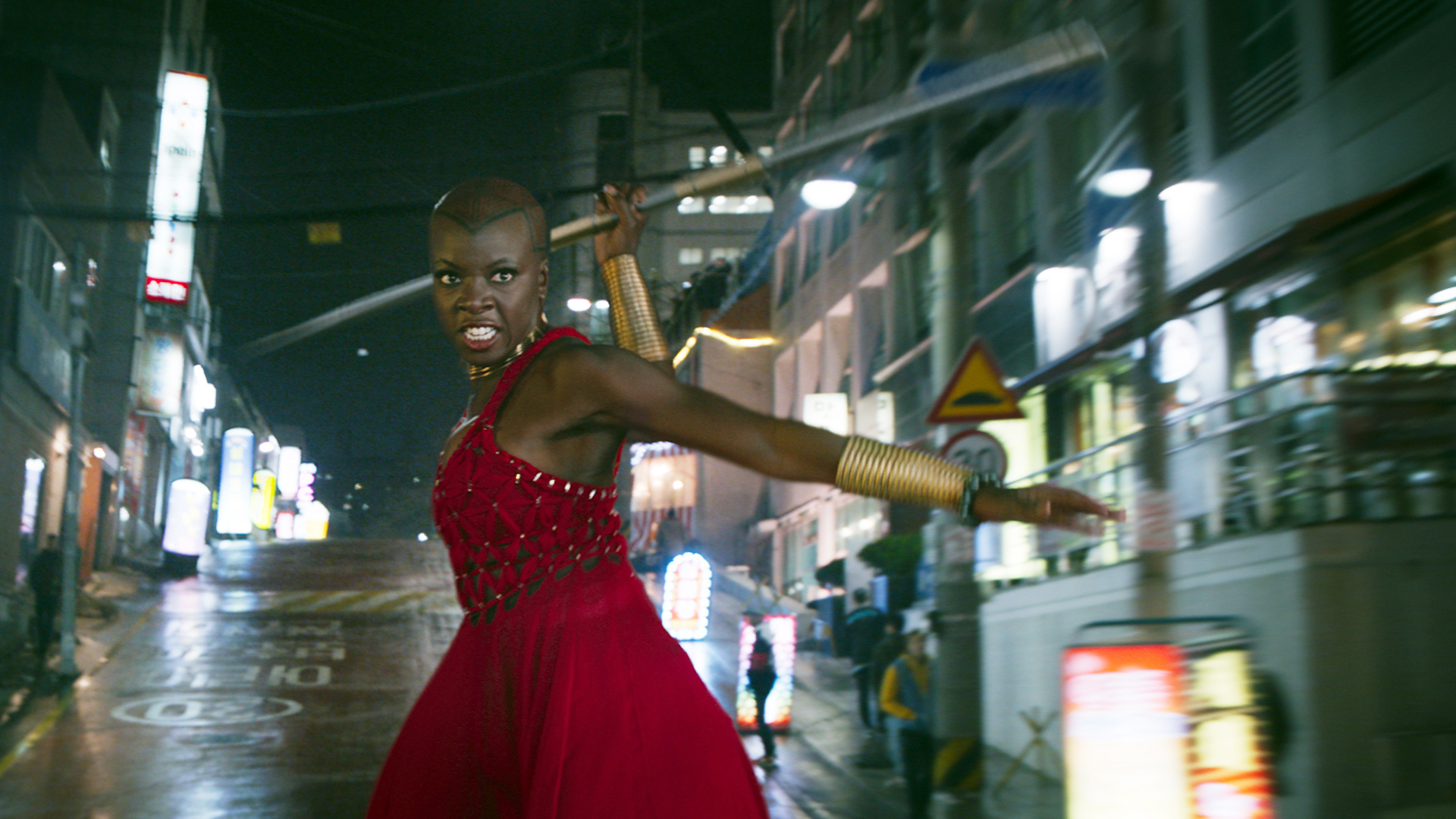Black Panther Danai Gurira From Zombie Slayer To Marvel Superstar