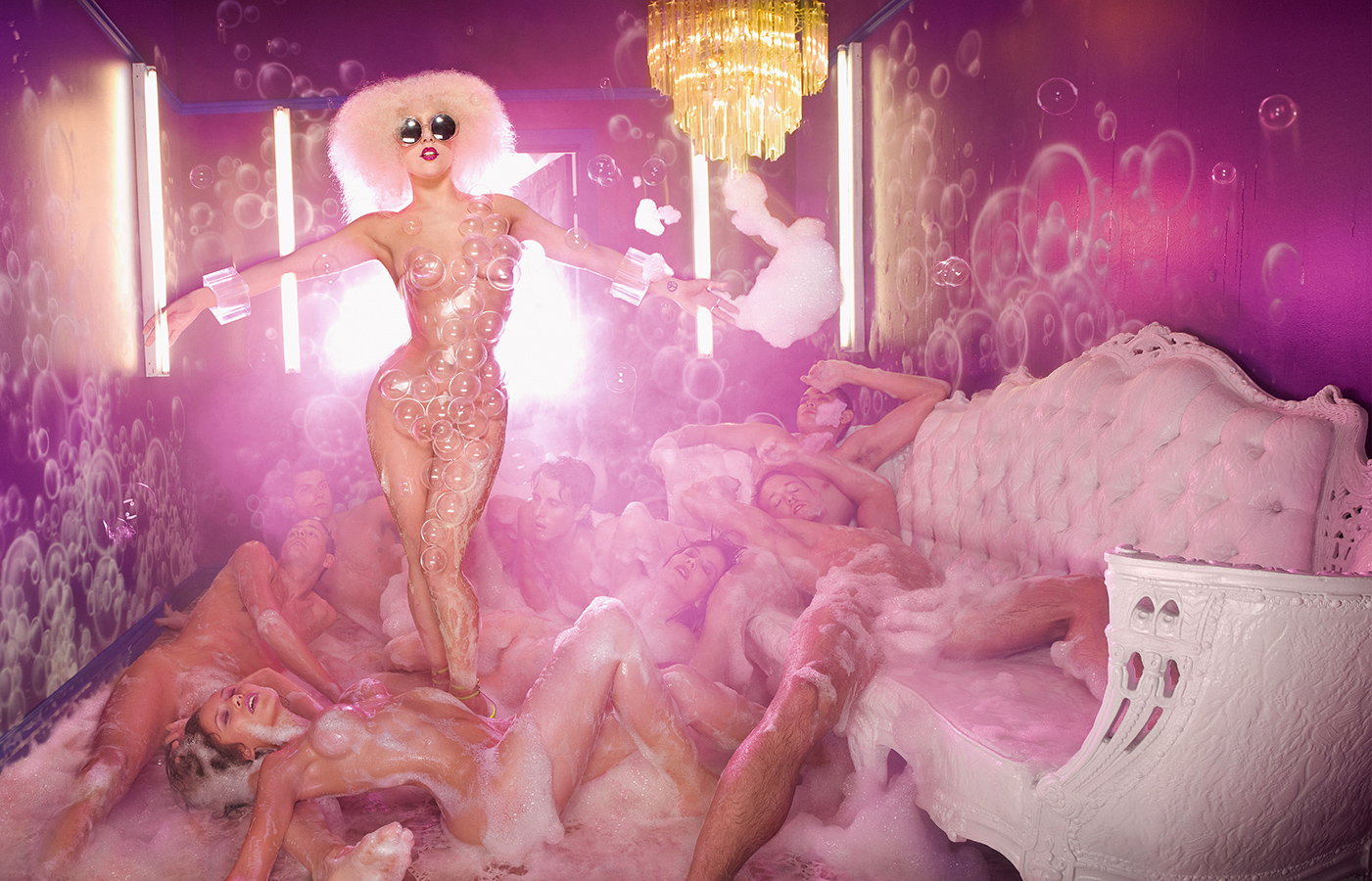 David LaChapelle on Lady Gaga, Tupac Shakur and Working for Andy Warhol