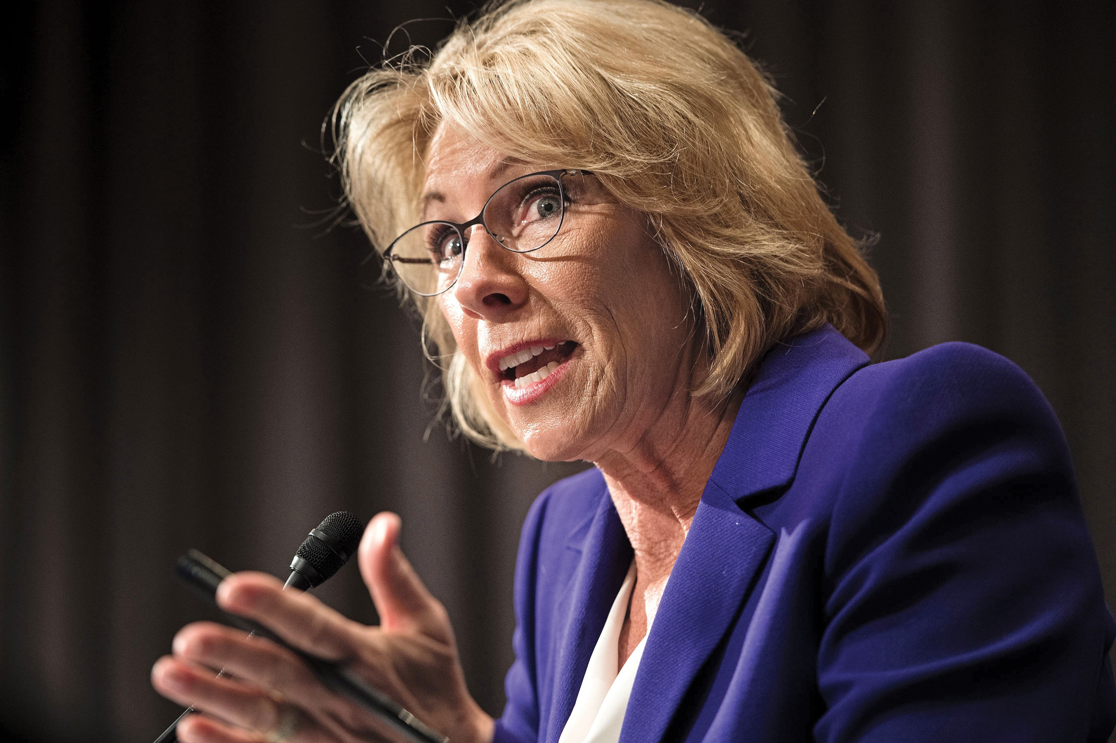 Betsy Devos Wont Be Doing Too Much As >> Trump Education Secretary Betsy Devos A Win For The Christian Right