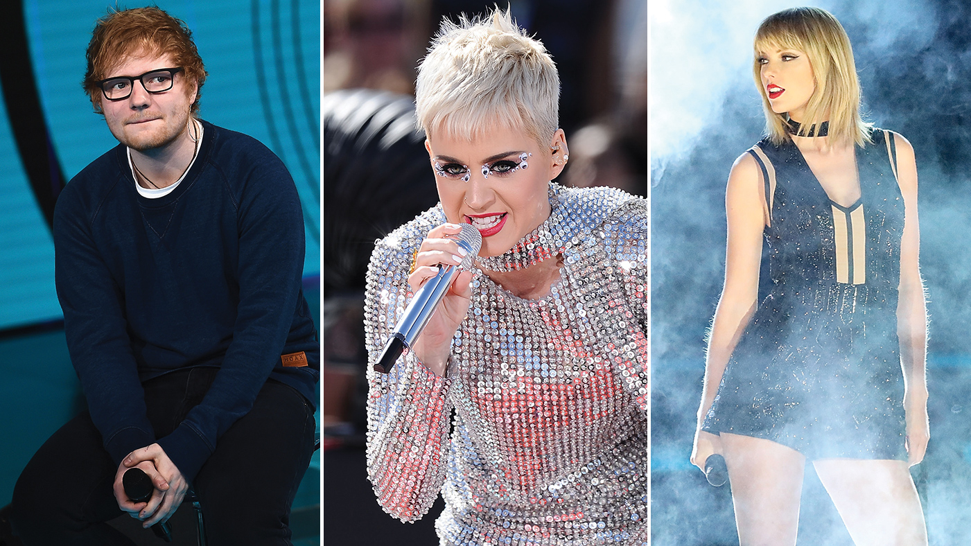 Ed Sheeran Weighs In On Taylor Swift Katy Perry Feud Rolling Stone