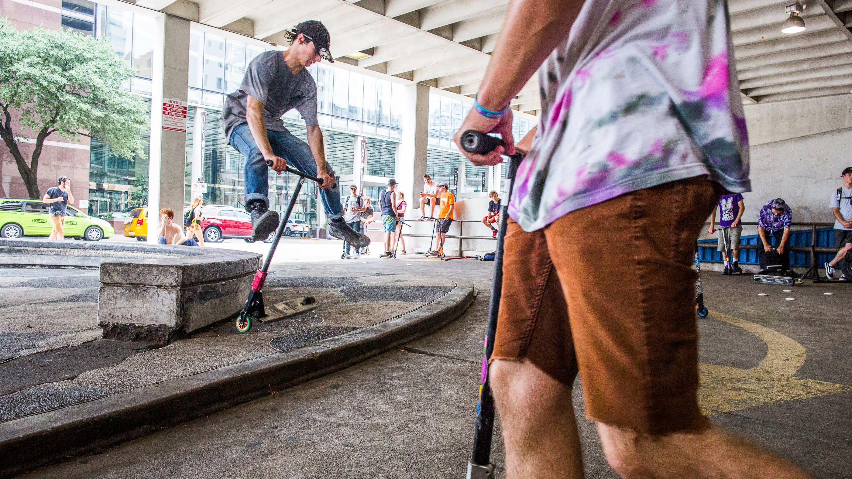 How Scooters Are Becoming Millennials' Extreme Sport of