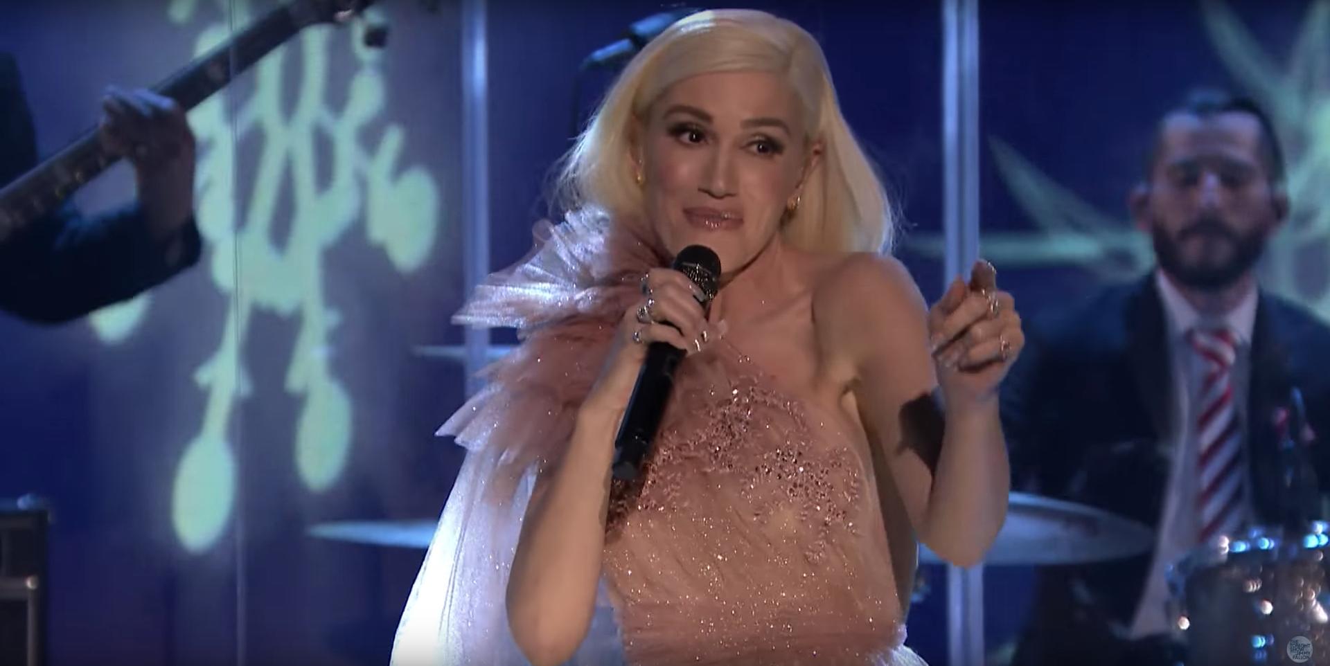 Watch Gwen Stefani Sing Wham!\'s \'Last Christmas\' on \'Fallon ...