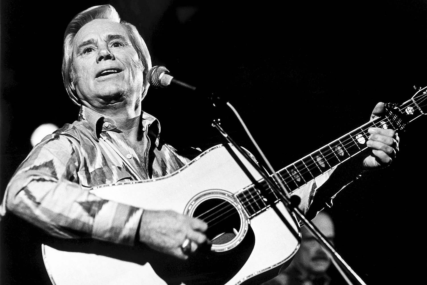 100 Greatest Country Artists Of All Time Singers Ranked Rolling Stone They Peaked On The Talent Show Circuit In 1992 With A Performance American Music Star George Jones 1931 2013 Performs At Tramps New