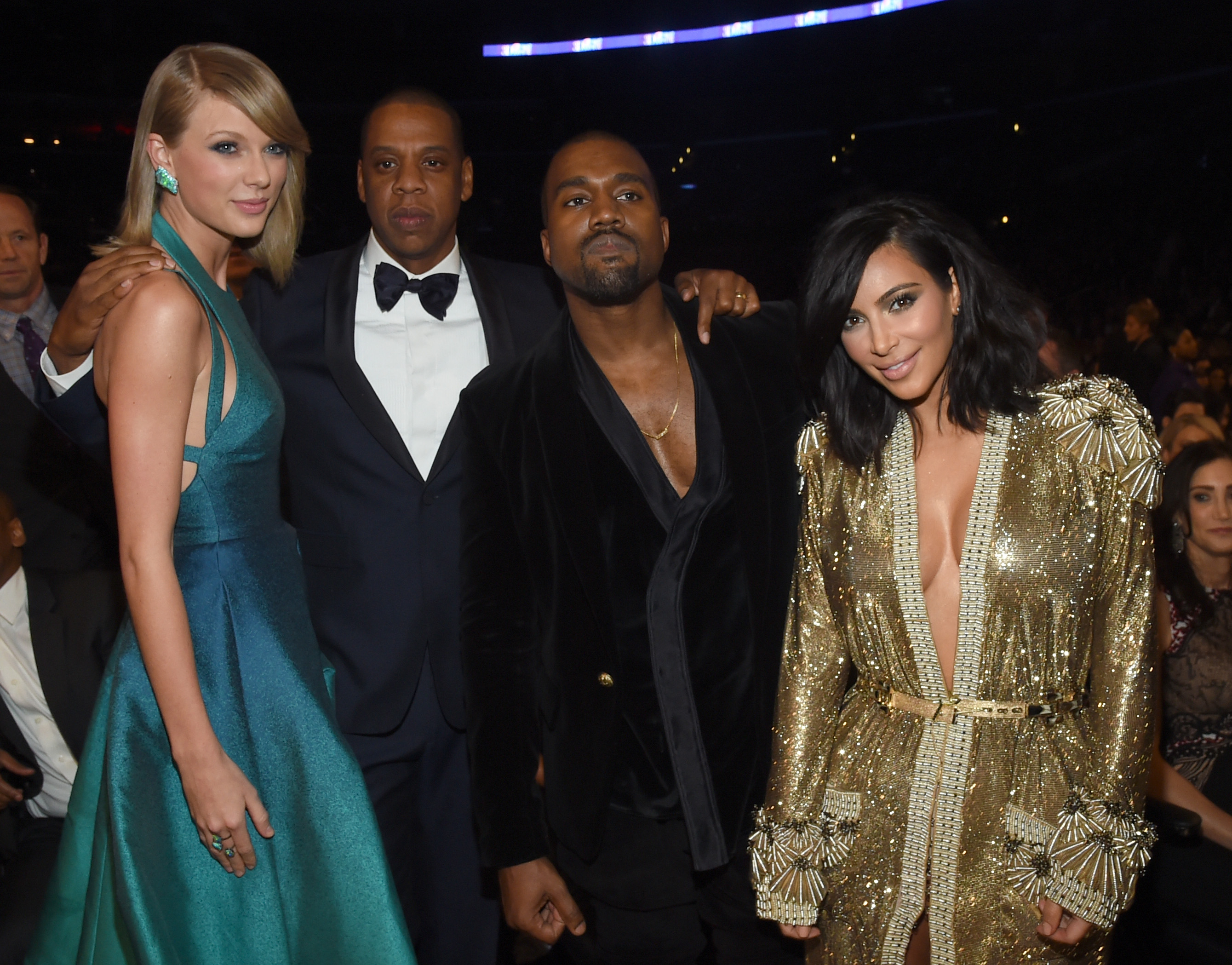 picture Taylor Swift Shades Kim Kardashian by Wearing a Snake Outfit on Their SnapchatAnniversary