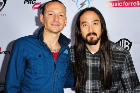 Steve Aoki Unveils Linkin Park Mash Up Talks Chester