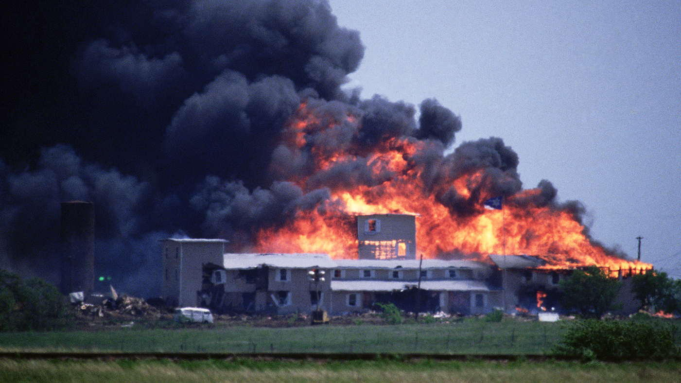 David Koresh, Waco Cult Showdown Ends in Disaster in 1993