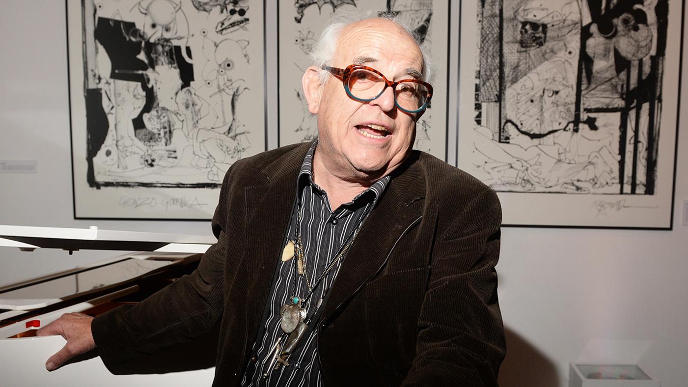 d56572b793 Ralph Steadman: 'Fear and Loathing' Illustrator on Huncho Jack Album Art. Ralph  Steadman drew the art for Travis Scott and Quavo's collaboration ' ...