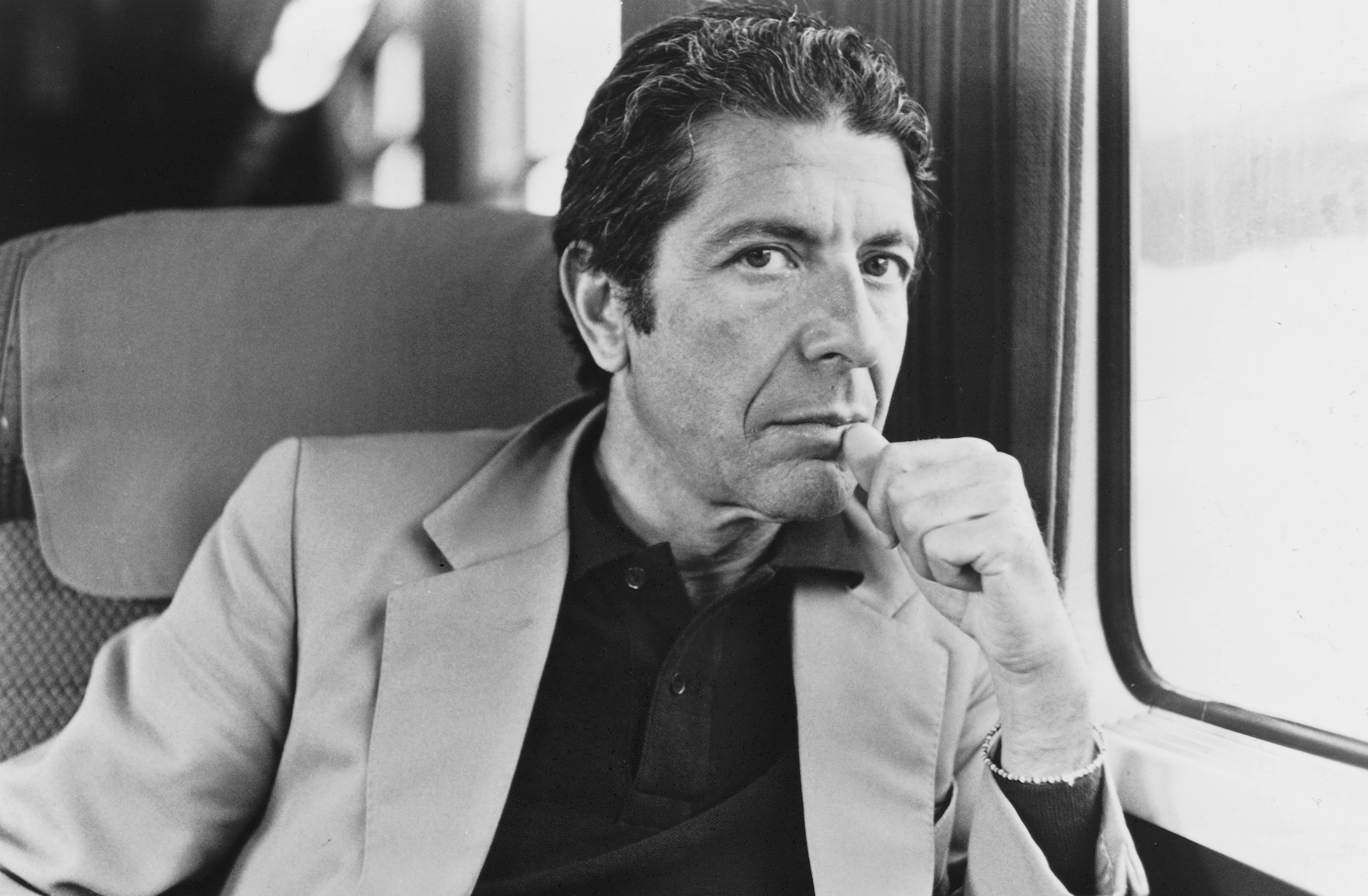 How Leonard Cohens Hallelujah Mingled Sex Religion Rolling Stone Here I Stand Suit Up To Wear A Tie Cohen