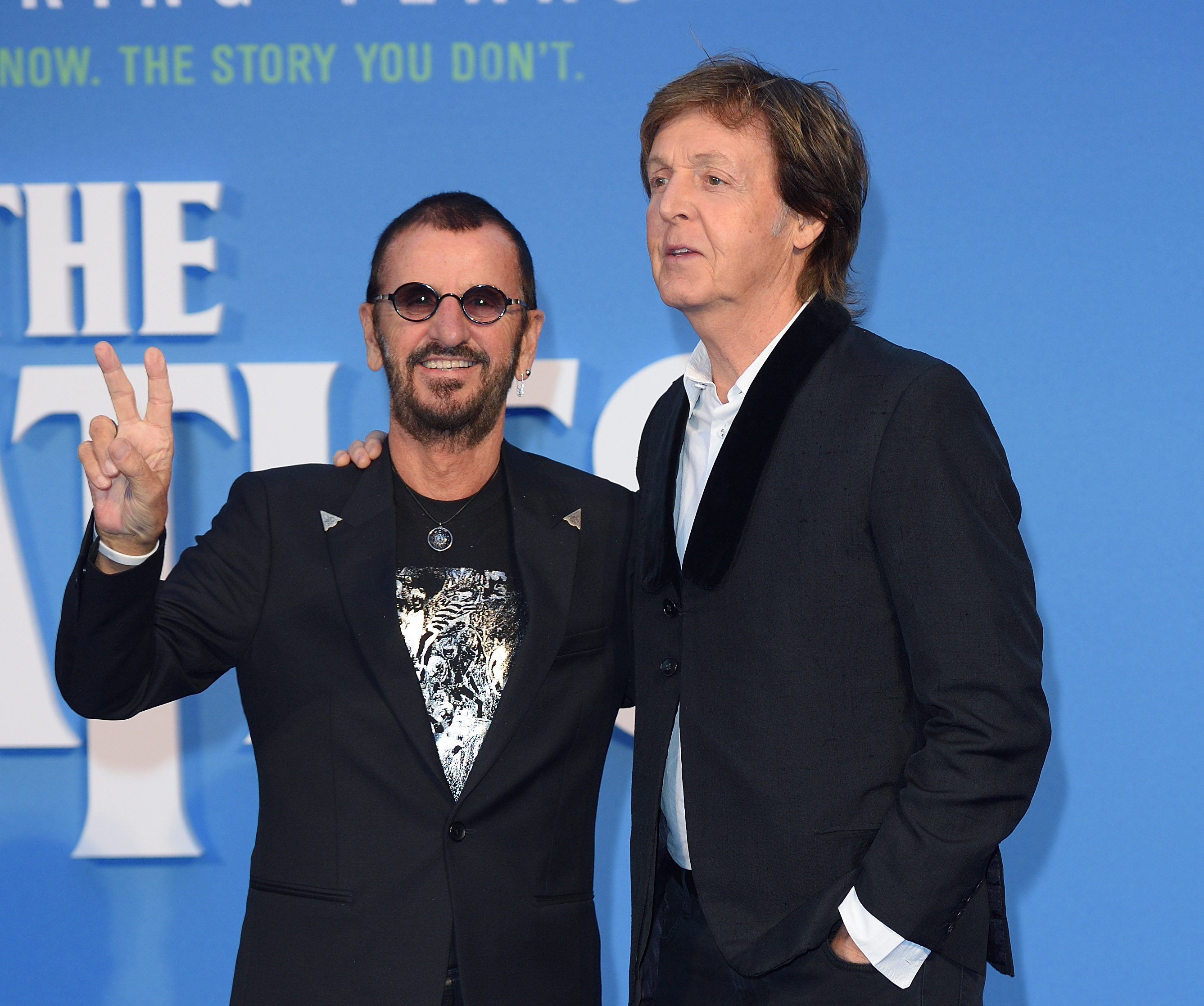 Former Beatles Bandmates Paul McCartney And Ringo Starr Reunited In The Studio This Weekend To Record New Music Together