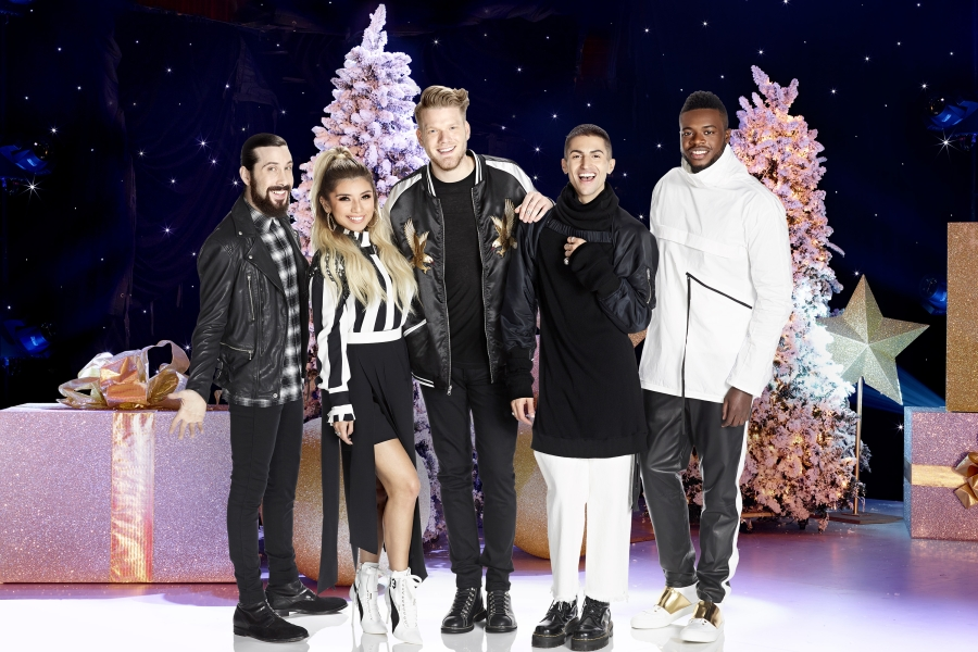A Capella Outfit Pentatonix Detail North American Tour