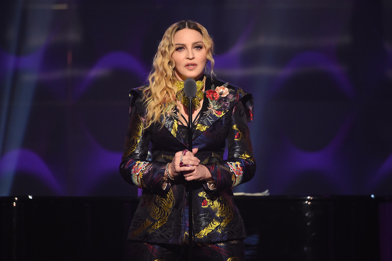 30b44fdf81d Watch Madonna Talk Sexism in Powerful Women in Music Speech ...