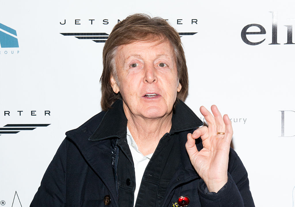 Twenty Years After Queen Elizabeth II First Knighted Sir Paul McCartney The Beatles Great Has Been Elevated With A Companion Of Honor Award