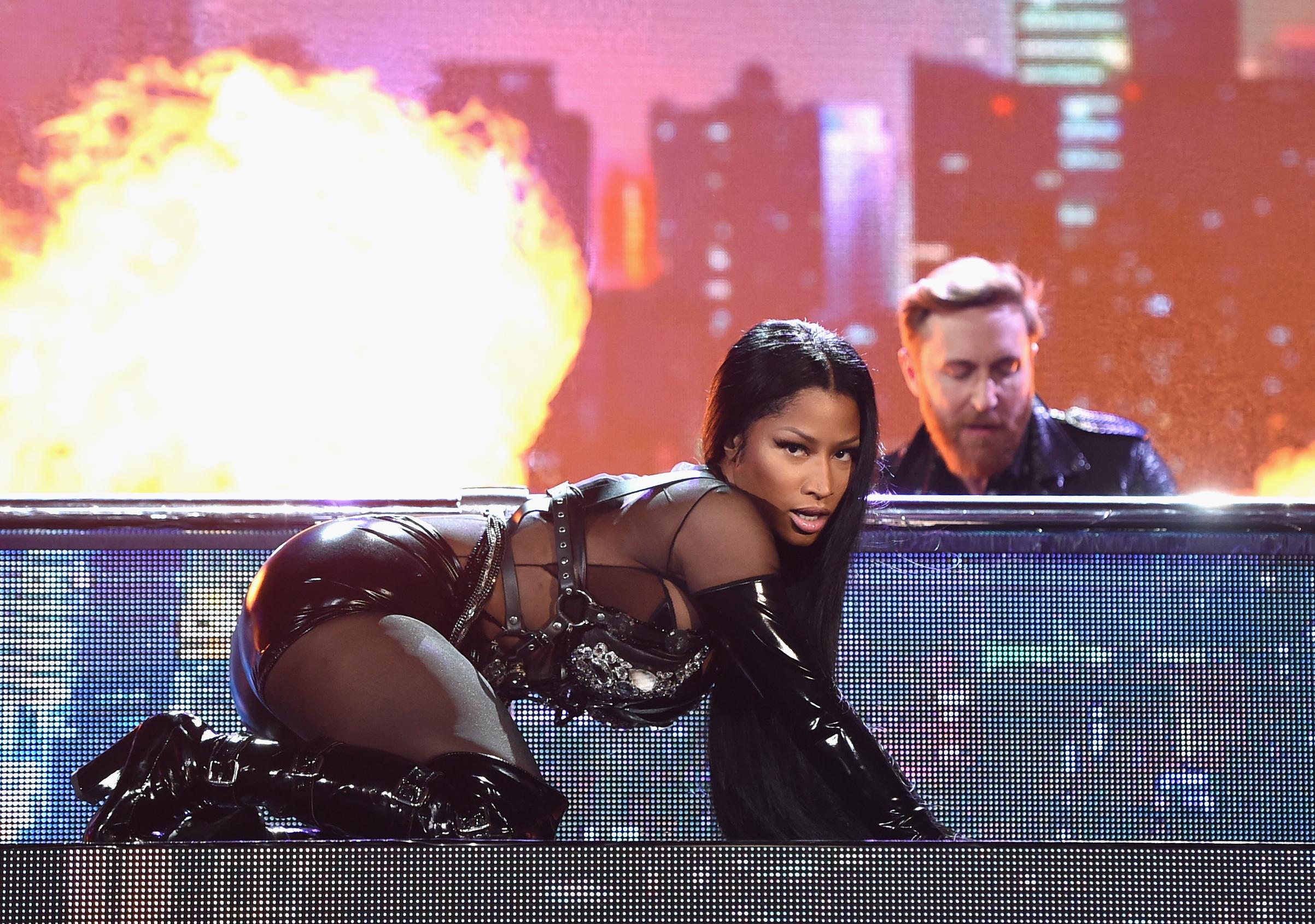 Nicki Minaj Opens BBMAs 2017 With Over-the-Top Medley: Watch