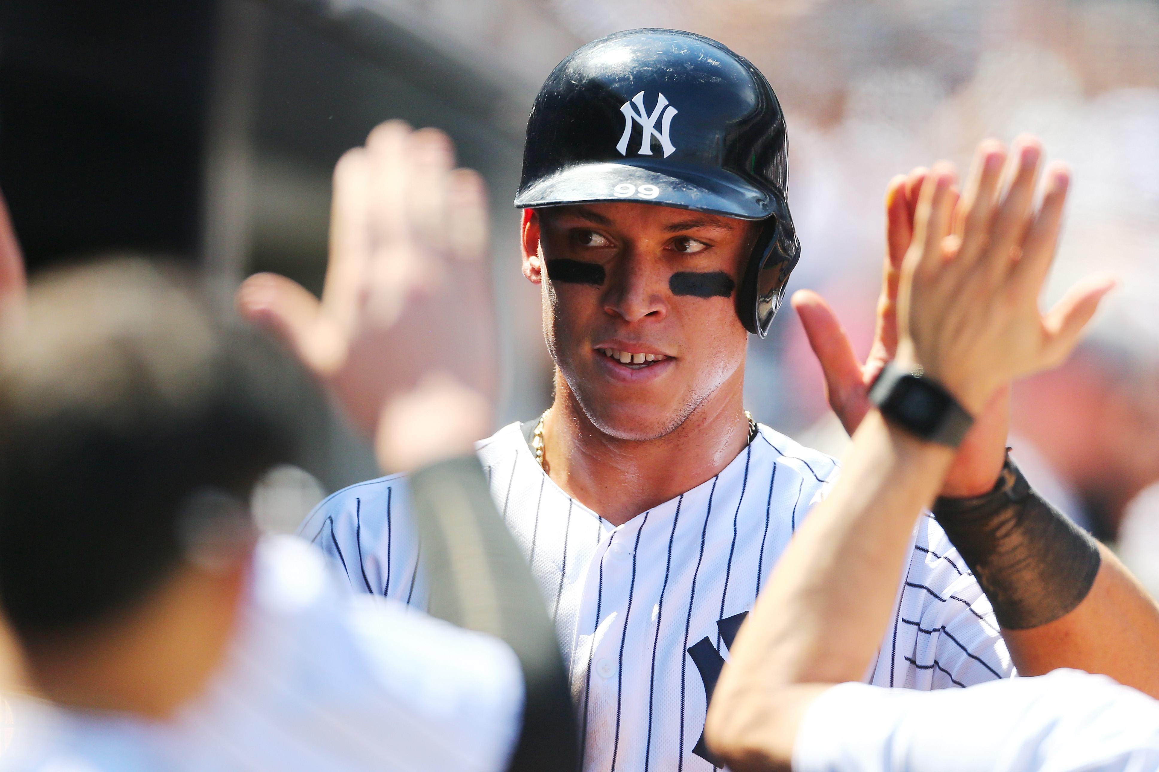 fc46d061f56 Yankees Rookie Aaron Judge Breaks Home Run Records – Rolling Stone