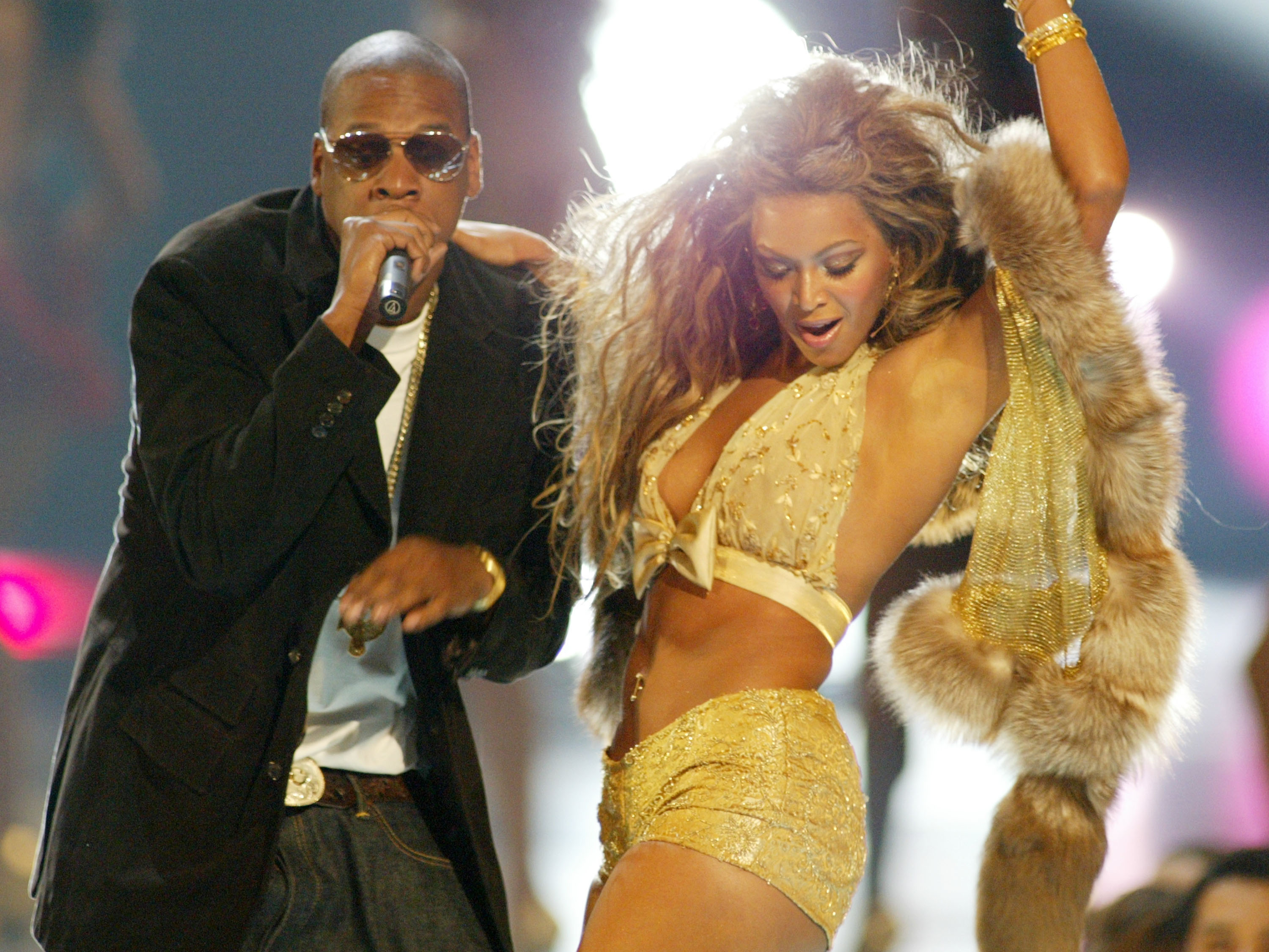 Beyonce introduced the video on the scandalous song about the betrayal of her husband