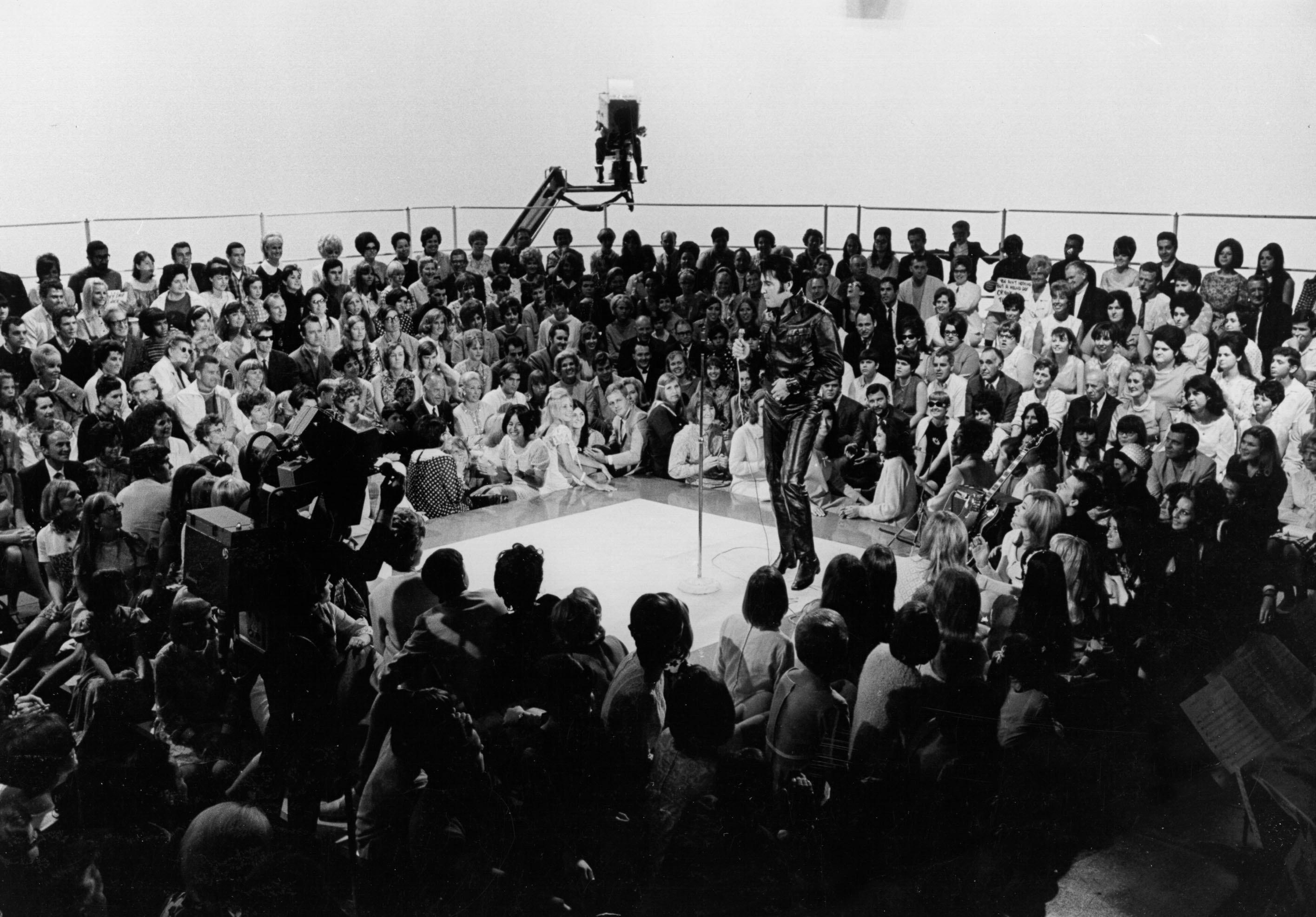 671c617c702 Inside Elvis Presley s Legendary 1968 Comeback Special – Rolling Stone
