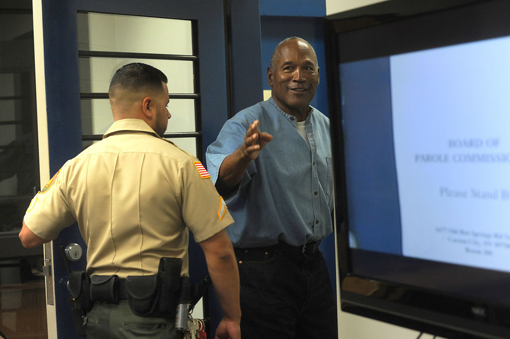 O.J. Simpson Mocks Prison-Release Classes