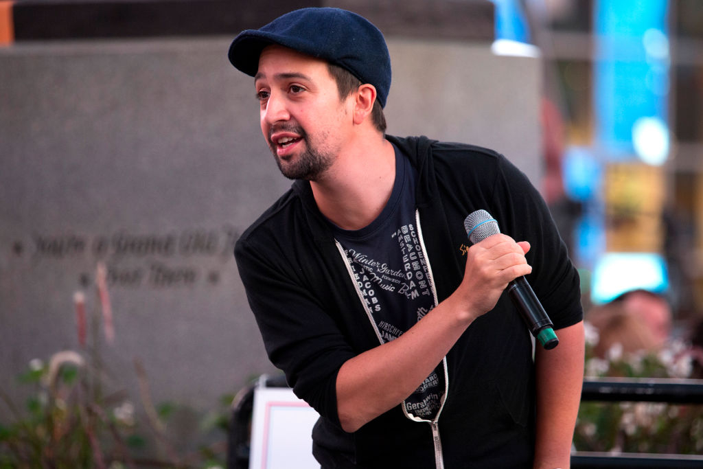 Lin-Manuel Miranda to Trump: 'You're Going Straight to Hell