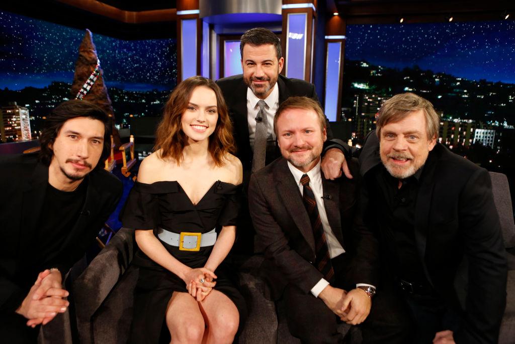 Watch \'Star Wars: The Last Jedi\' Cast Take Over \'Kimmel\' – Rolling Stone