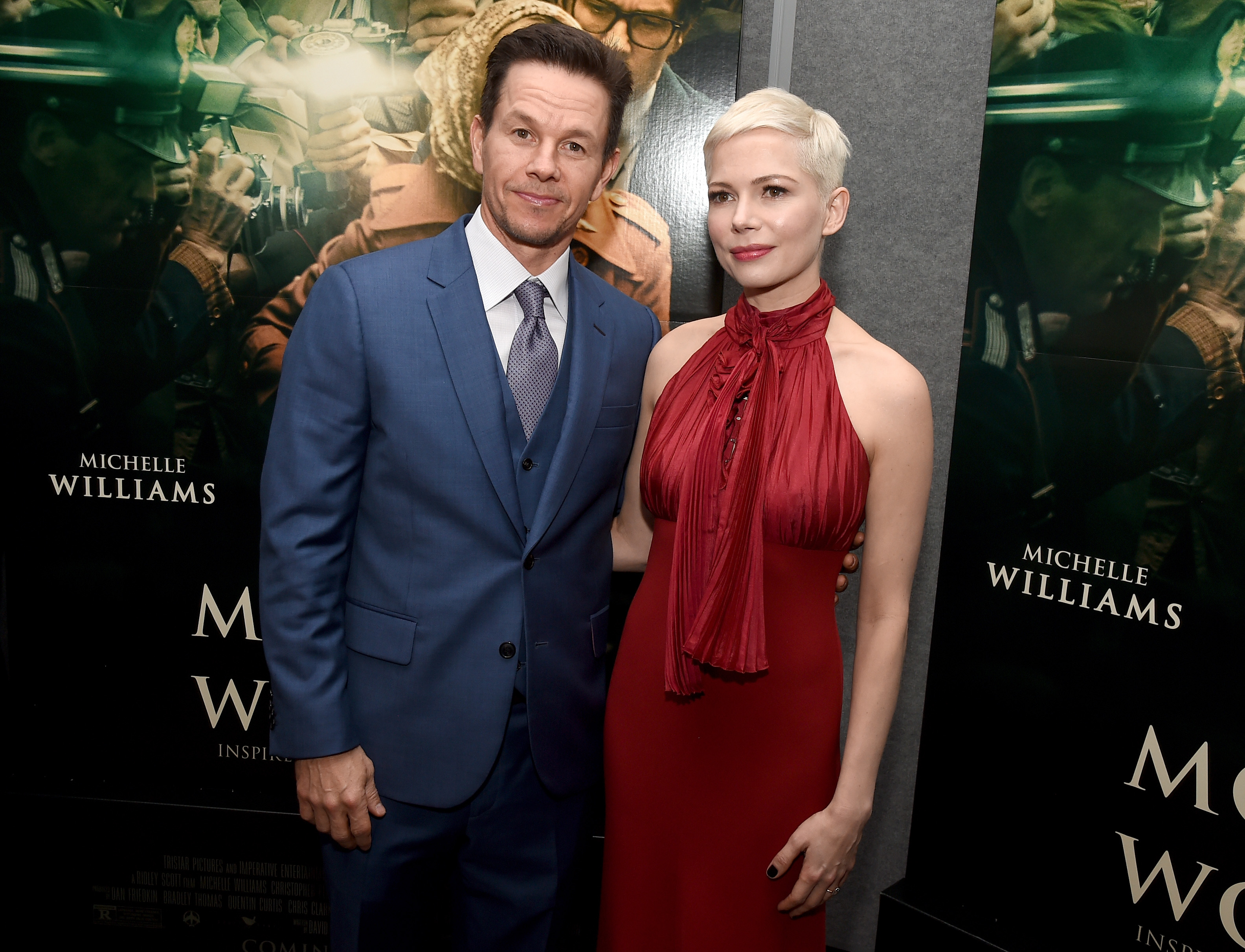 22185ccdefd Michelle Williams Paid Less Than  Money  Co-Star Mark Wahlberg ...