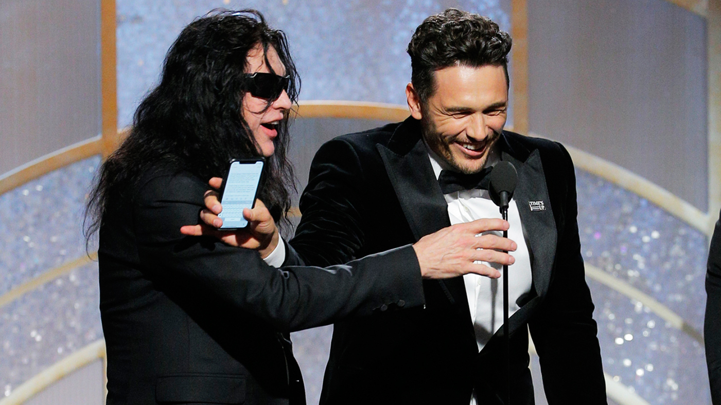 Golden Globes 2018: What Tommy Wiseau Wanted to Say in Speech