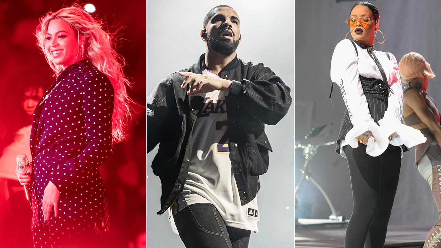 Grammys: Beyonce, Drake, Rihanna, Kanye West Lead Nominees – Rolling