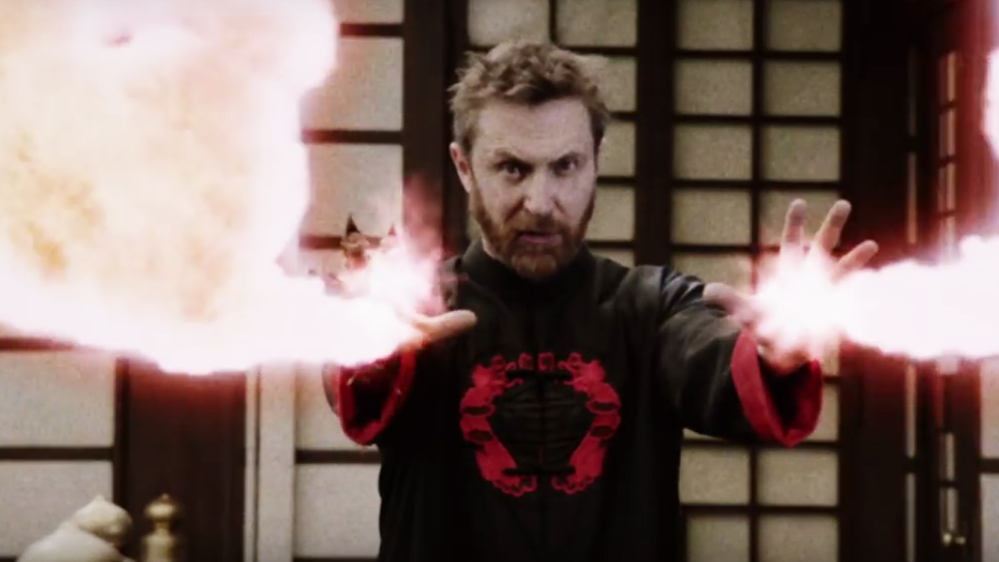 David Guetta Plays Evil Emperor in New 'Flames' Video With
