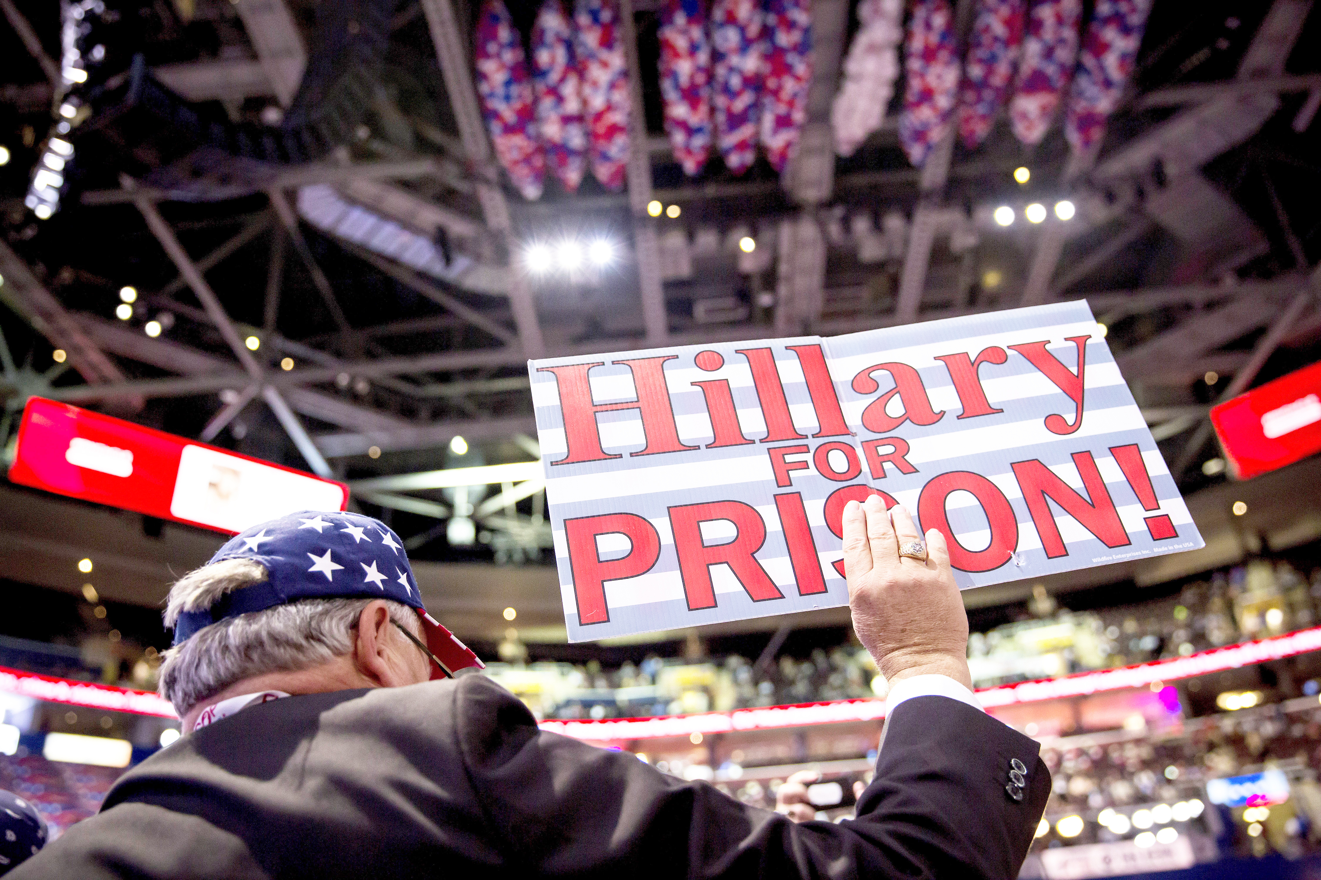 a7aec821c6a How  Lock Her Up!  Became a Mainstream GOP Rallying Cry – Rolling Stone