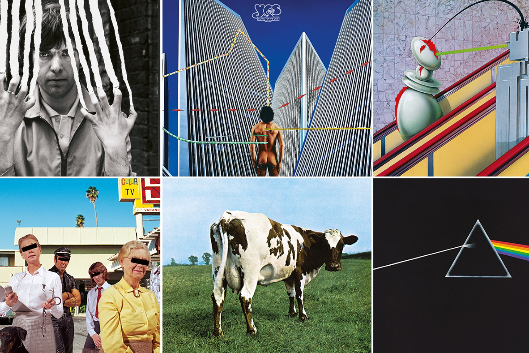 Hipgnosis Album Covers From Pink Floyd To Led Zeppelin Rolling